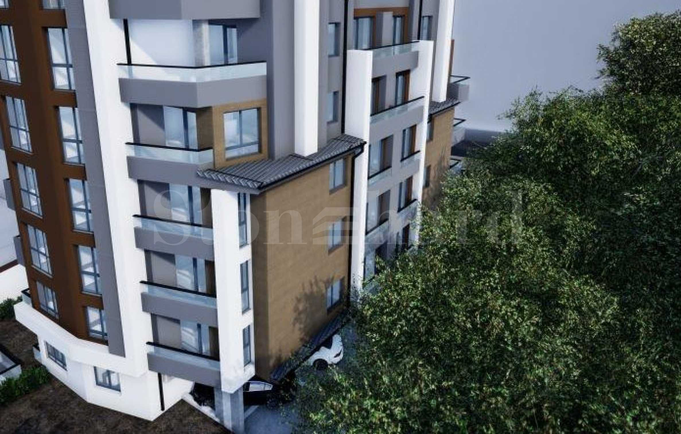New residential building in Stara Zagora next to a large park and many amenities1 - Stonehard