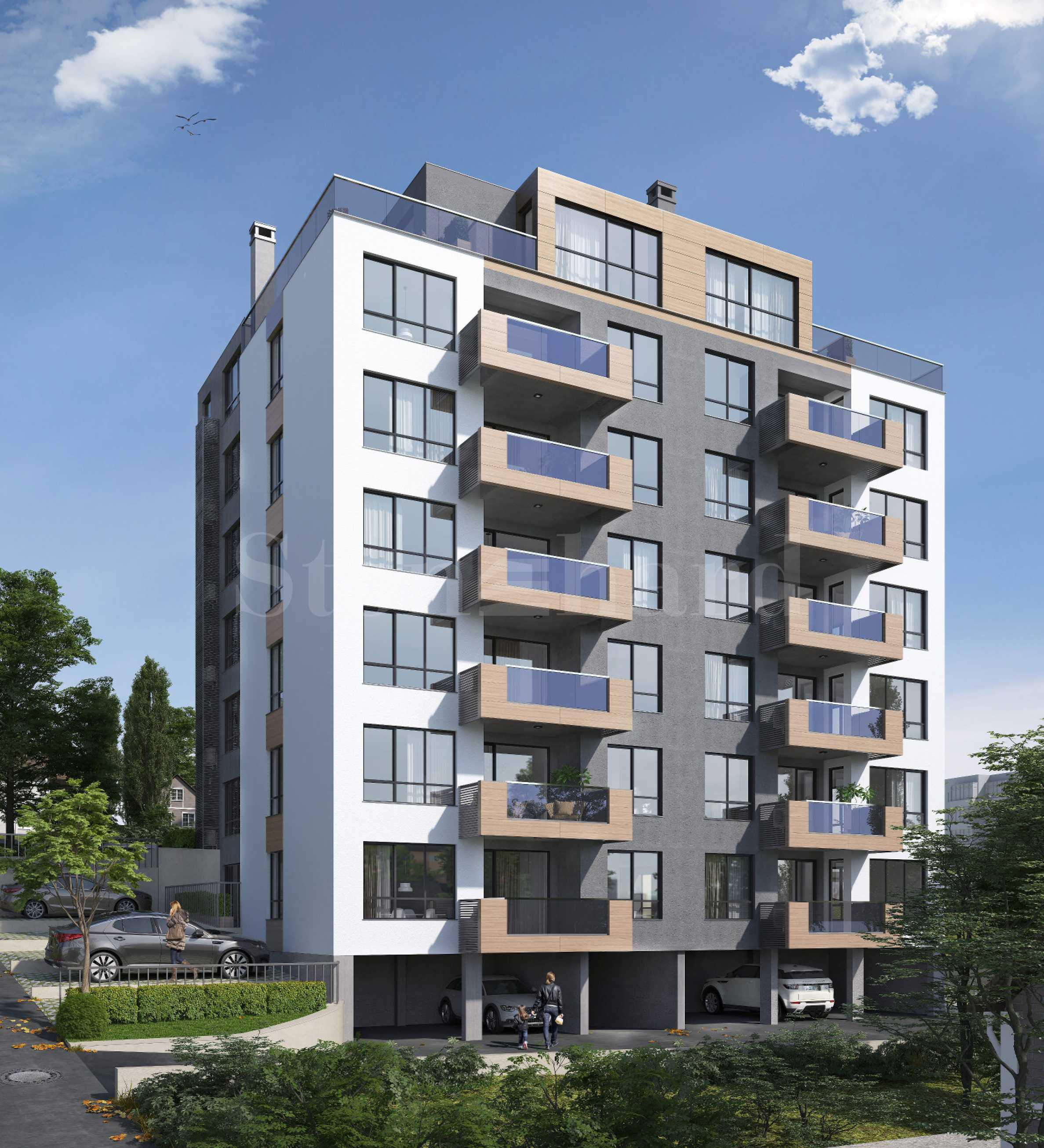 Modern building with new apartments and parking spaces in Varna1 - Stonehard