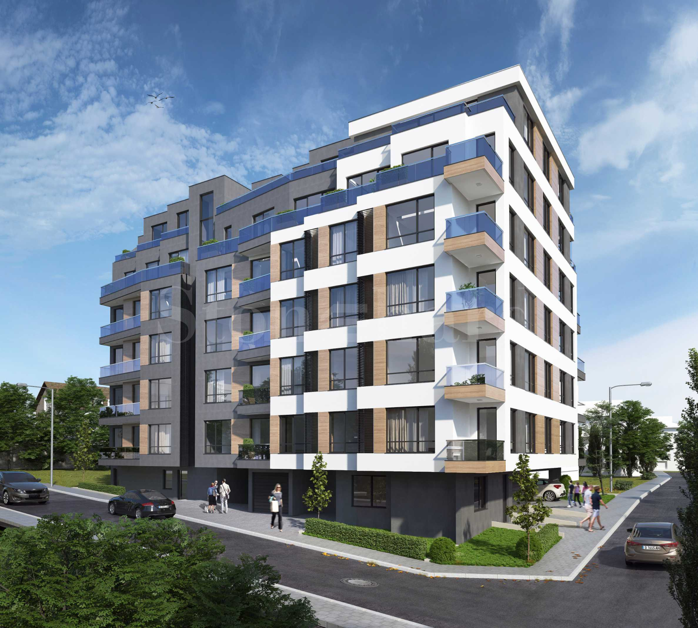 New apartments and parking spaces in an attractive building in Levski district1 - Stonehard