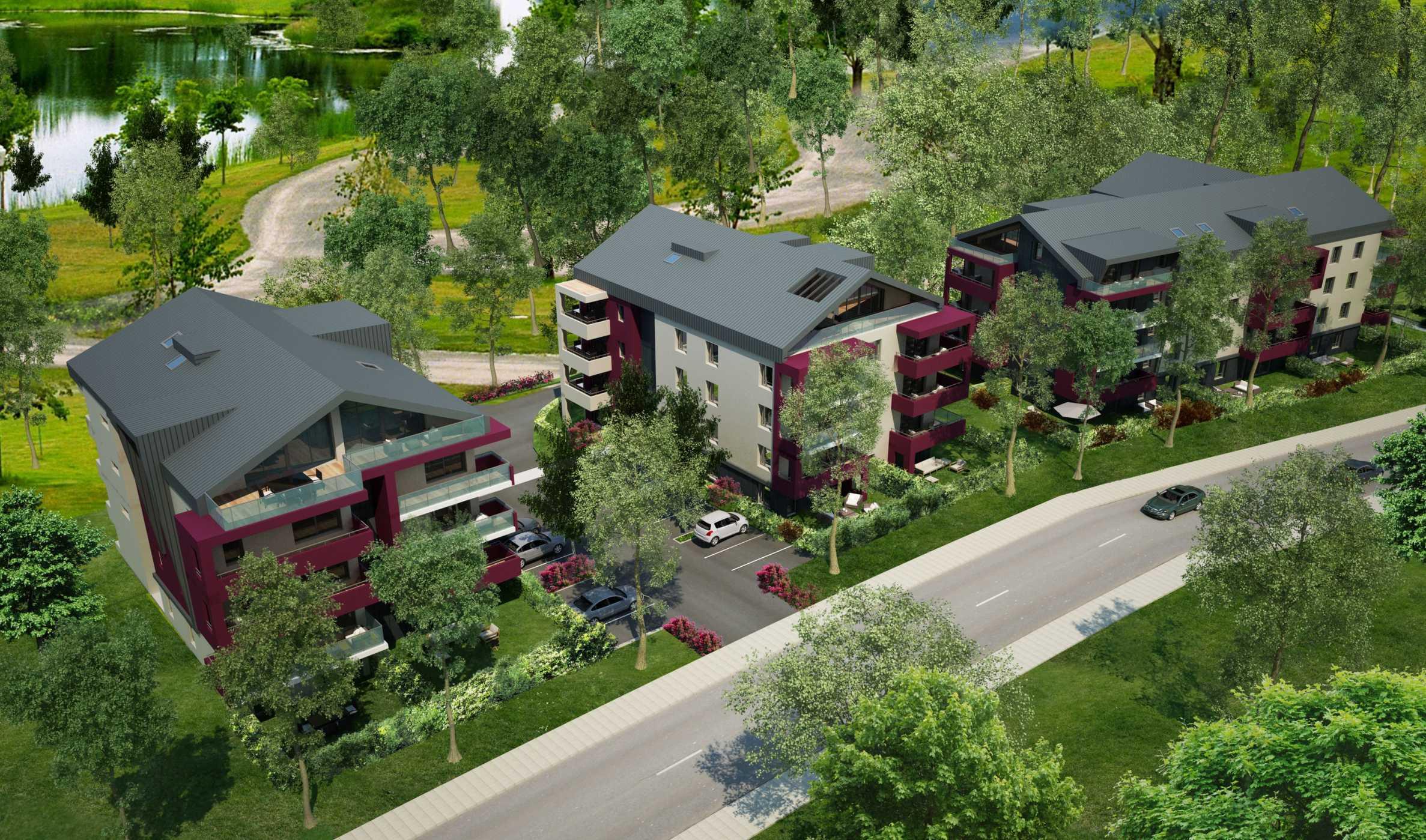 Family apartment complex in Annemasse (FR) near Geneva1 - Stonehard