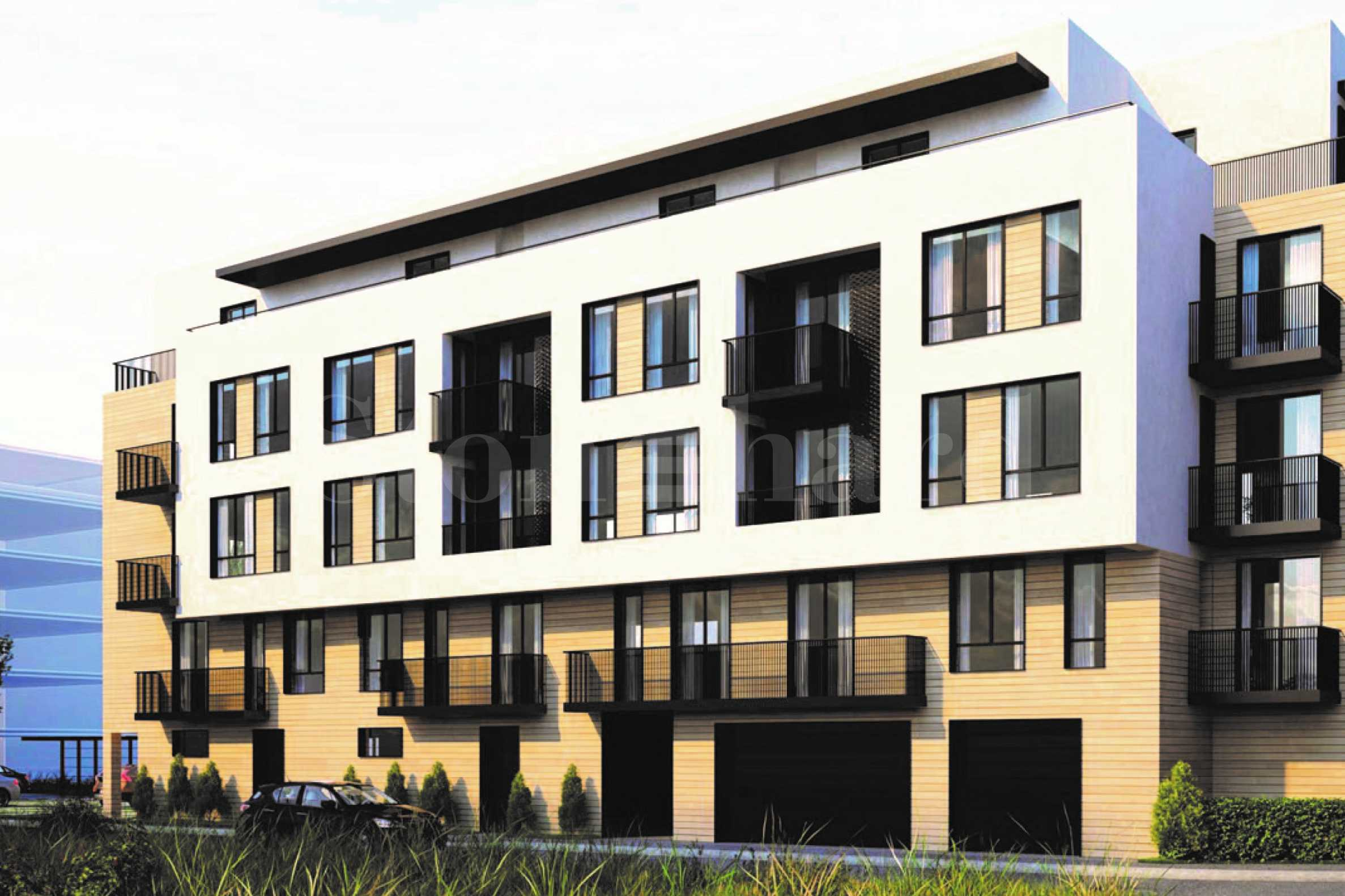 Residential building, new construction with different types of apartments in Druzhba 12 - Stonehard