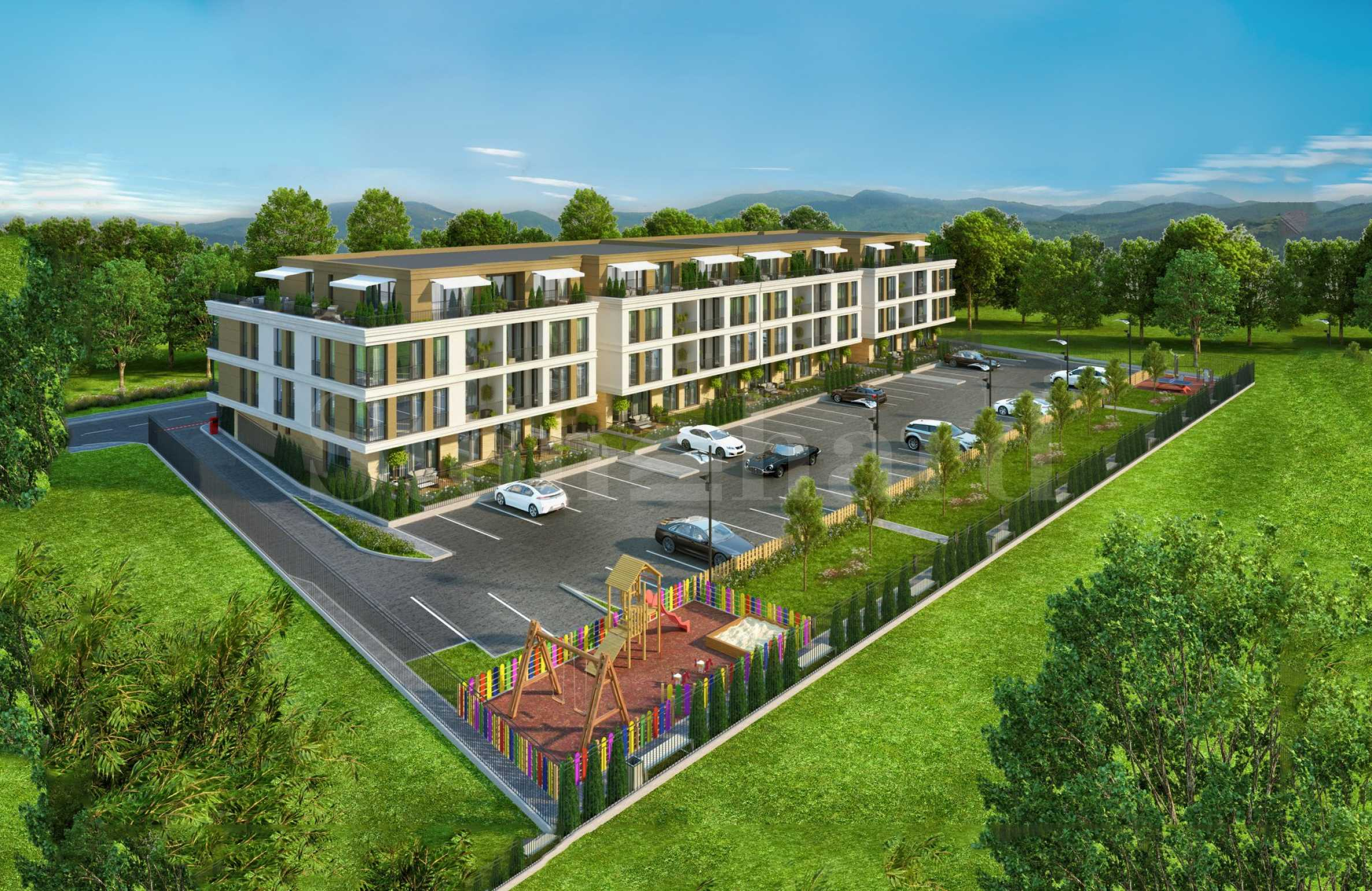 Apartments with mountain views in a new complex in the southern part of Plovdiv2 - Stonehard