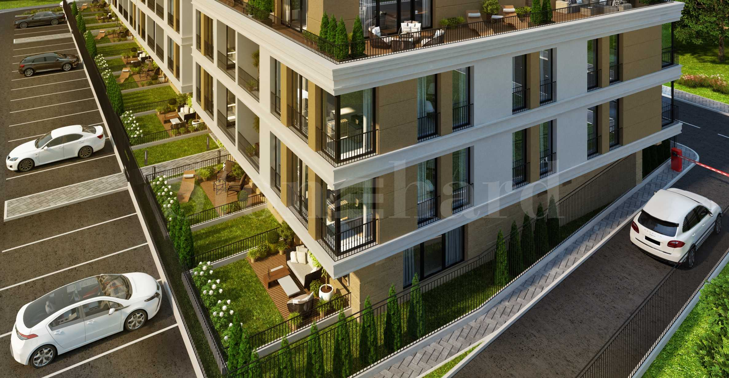 Apartments with mountain views in a new complex in the southern part of Plovdiv1 - Stonehard