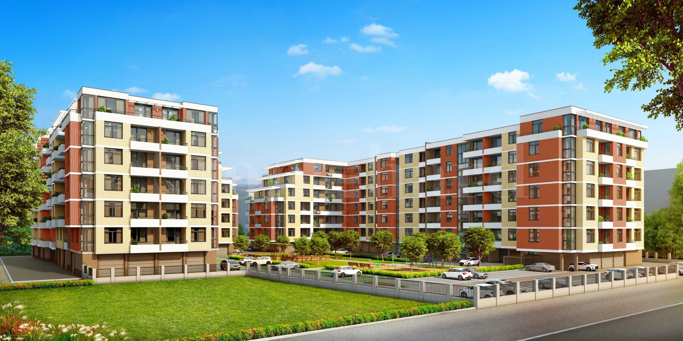 Apartments at attractive prices in a new complex in Kyuchuk Paris2 - Stonehard