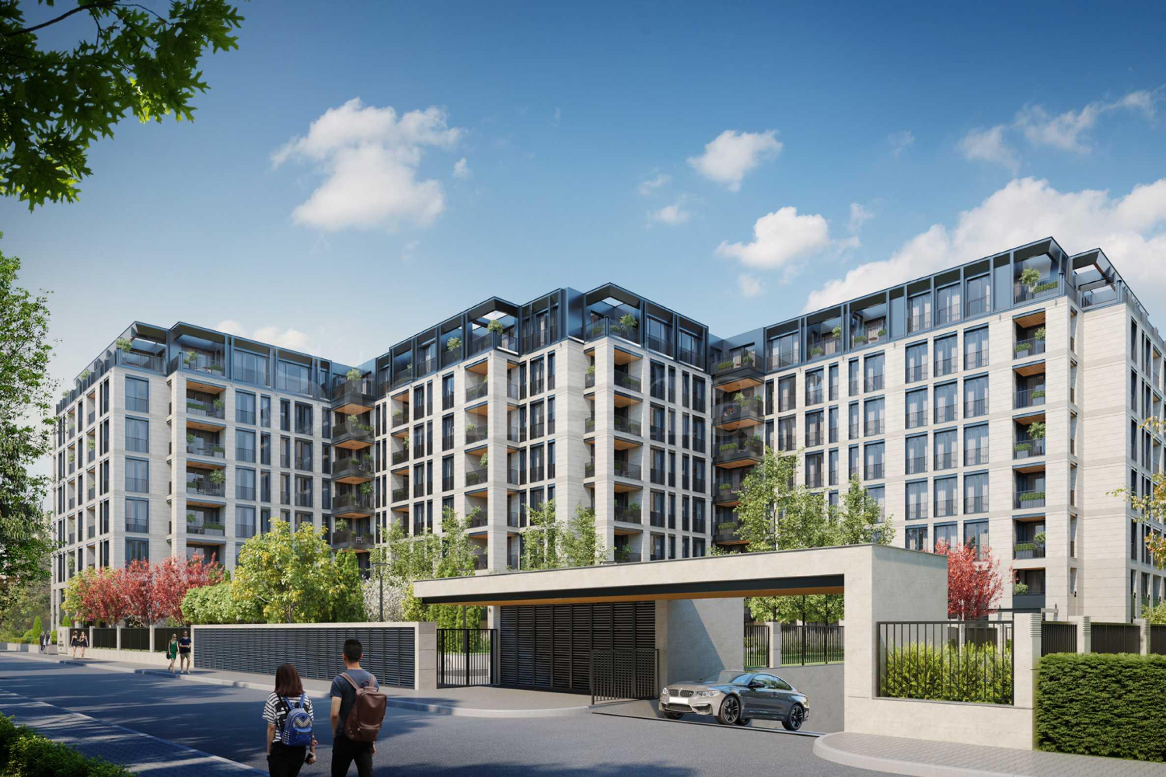 Луксозен, жилищен комплекс за продажба с прекрасни градини и панорамни гледки в кв.Лозенец1 - Stonehard