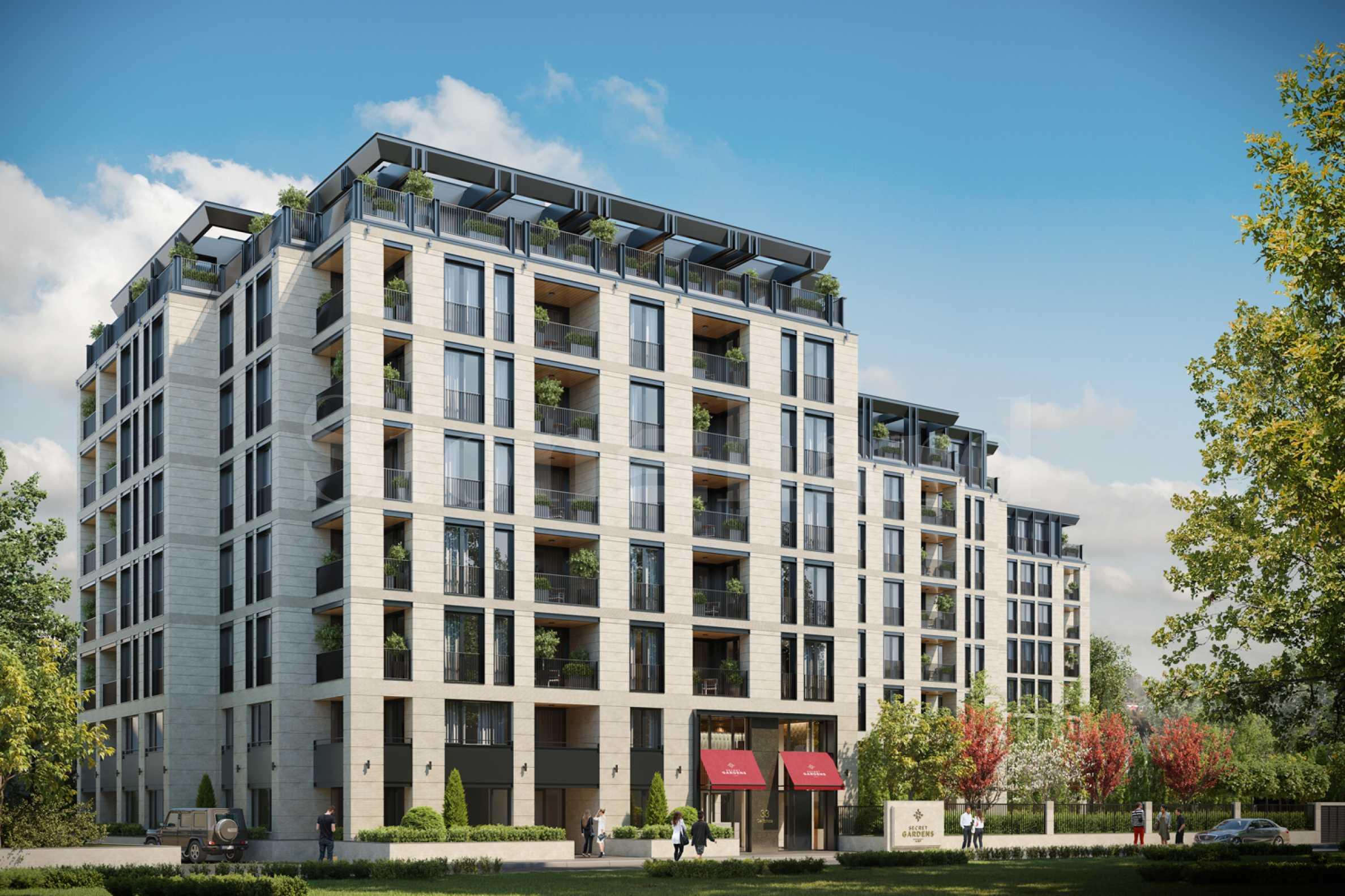Луксозен, жилищен комплекс за продажба с прекрасни градини и панорамни гледки в кв.Лозенец2 - Stonehard