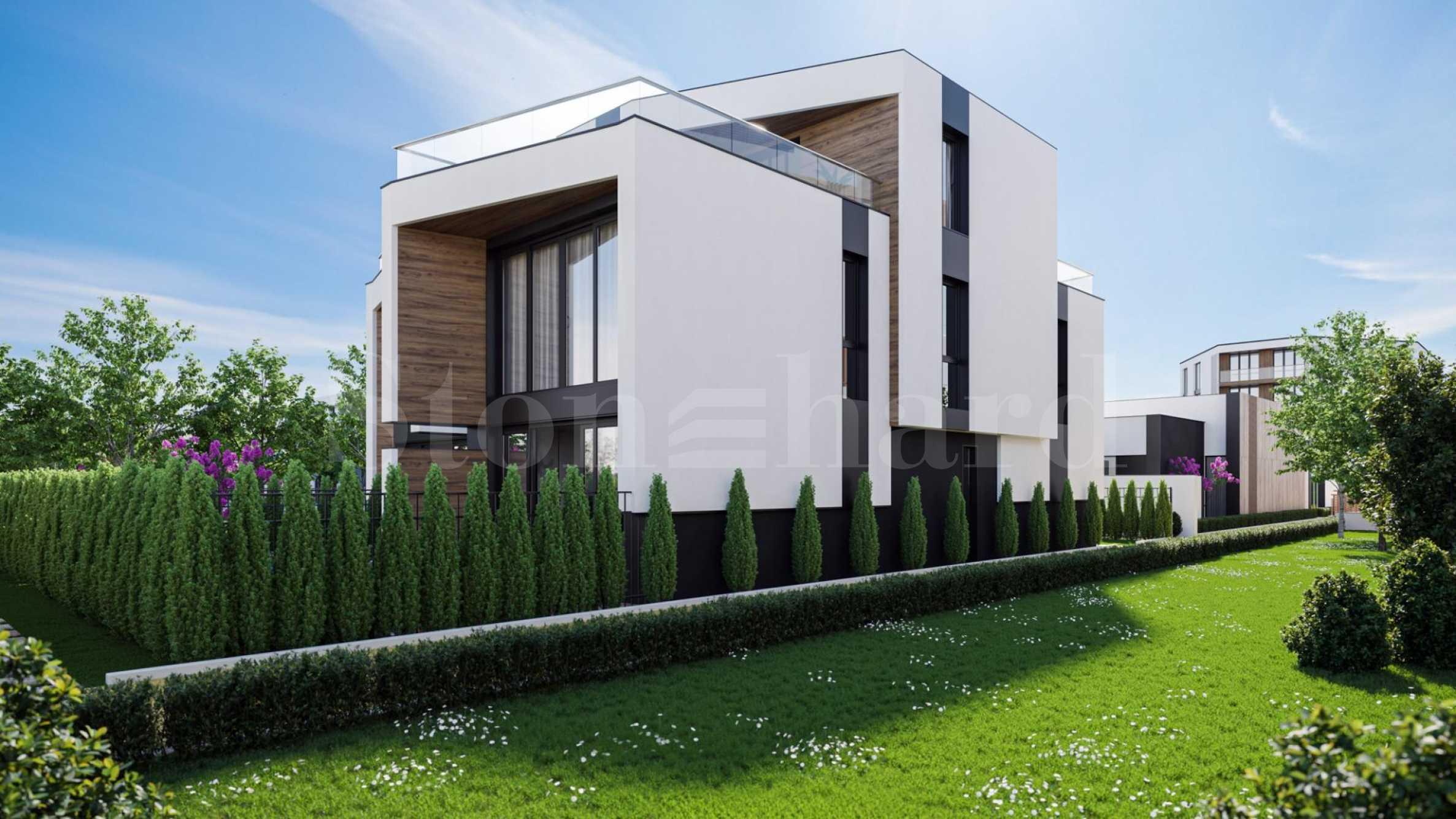 Модерни нови къщи тип
