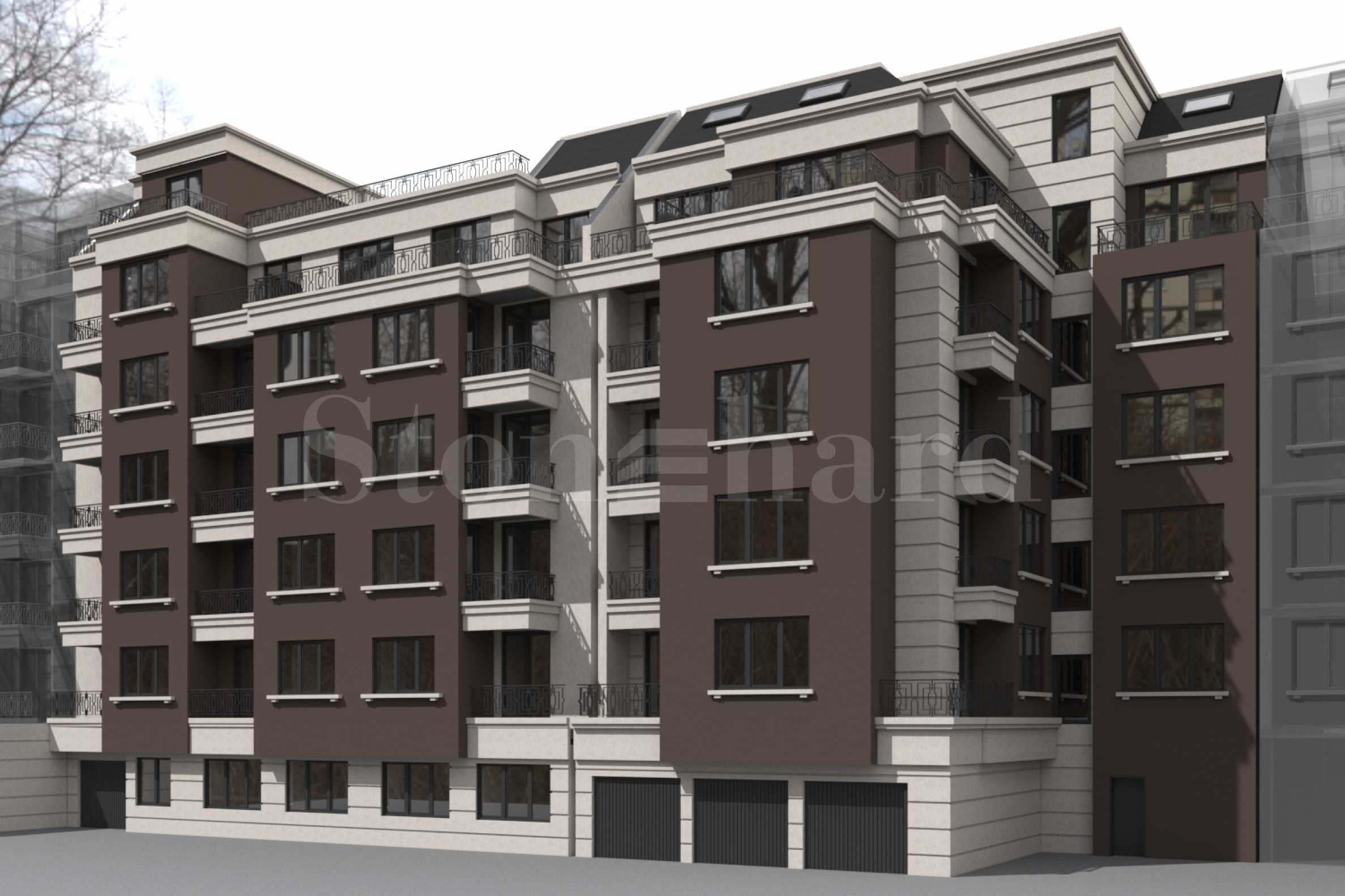 New building near Lion's Bridge with one and two bedroom apartments for sale1 - Stonehard