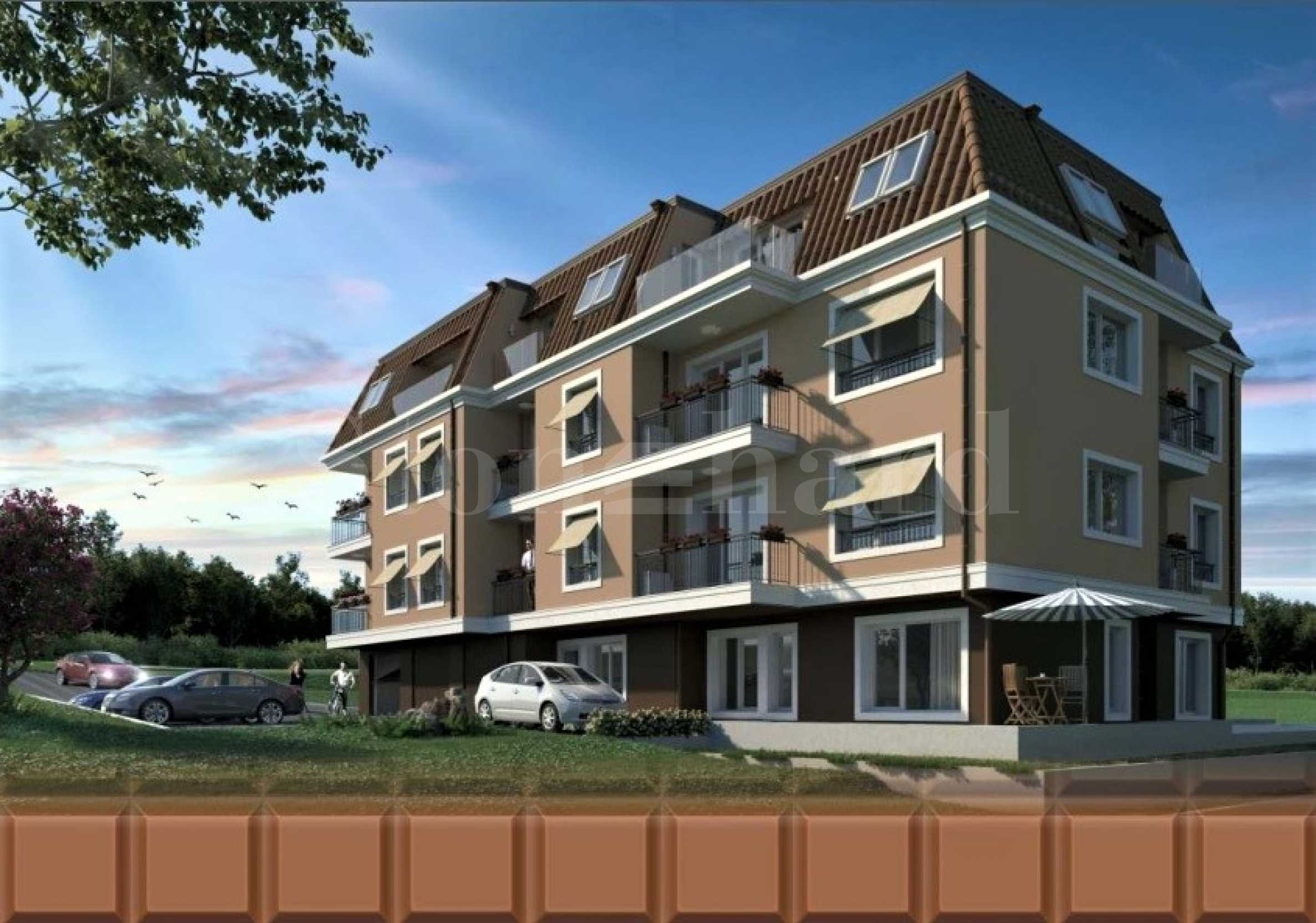 Apartments and parking spaces for sale in a new attractive building1 - Stonehard