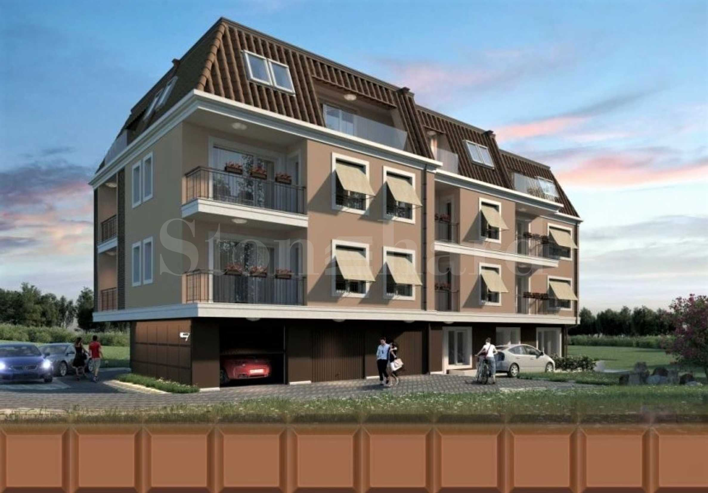Apartments and parking spaces for sale in a new attractive building2 - Stonehard