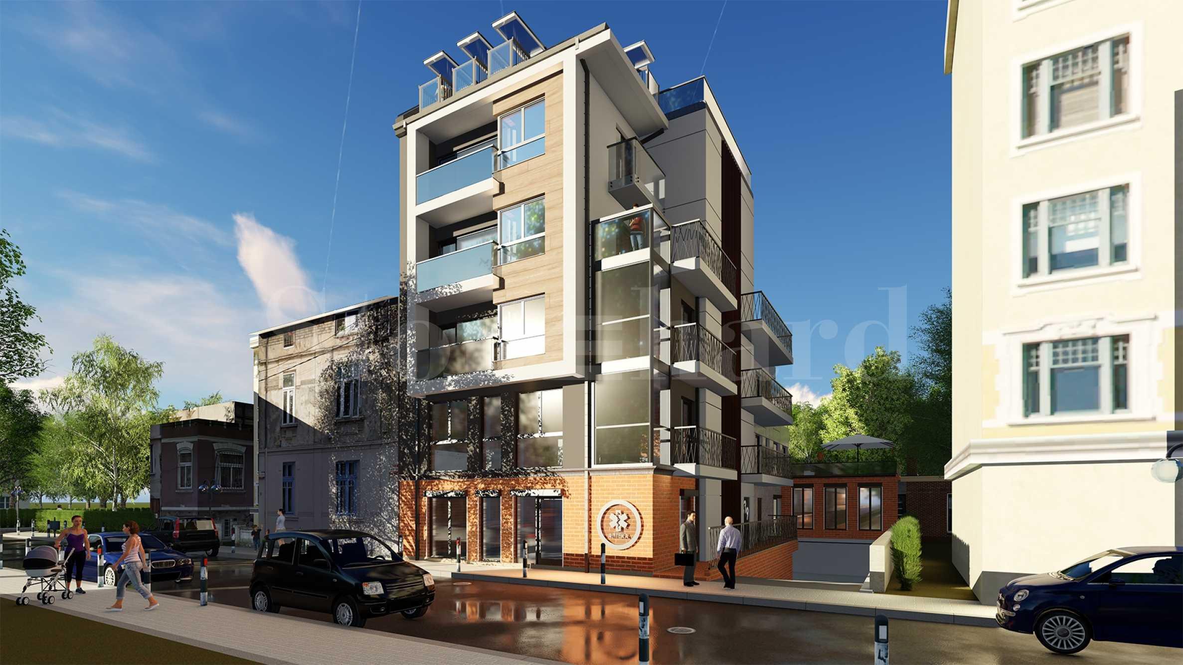 Апартаменти за продажба в бутикова сграда на атрактивна локация1 - Stonehard