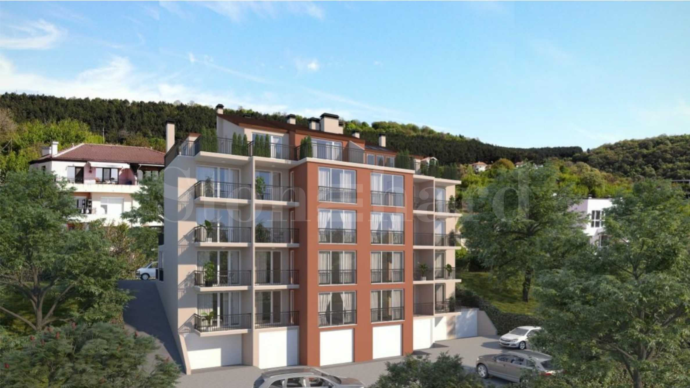 Apartments with sea views in a new building in Varna1 - Stonehard