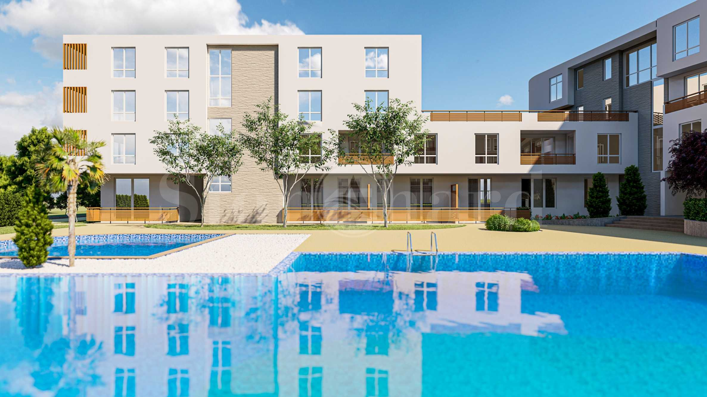 Building D - newly built apartments on the first floor, 50 meters from the beach1 - Stonehard