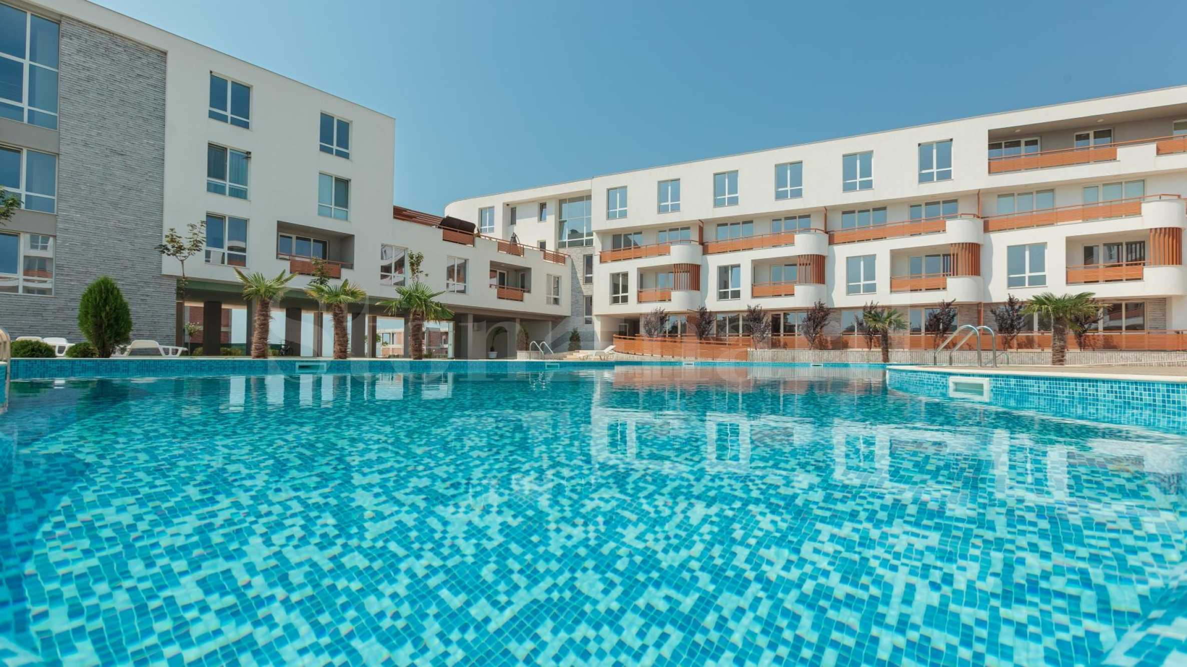 Building D - newly built apartments on the first floor, 50 meters from the beach2 - Stonehard