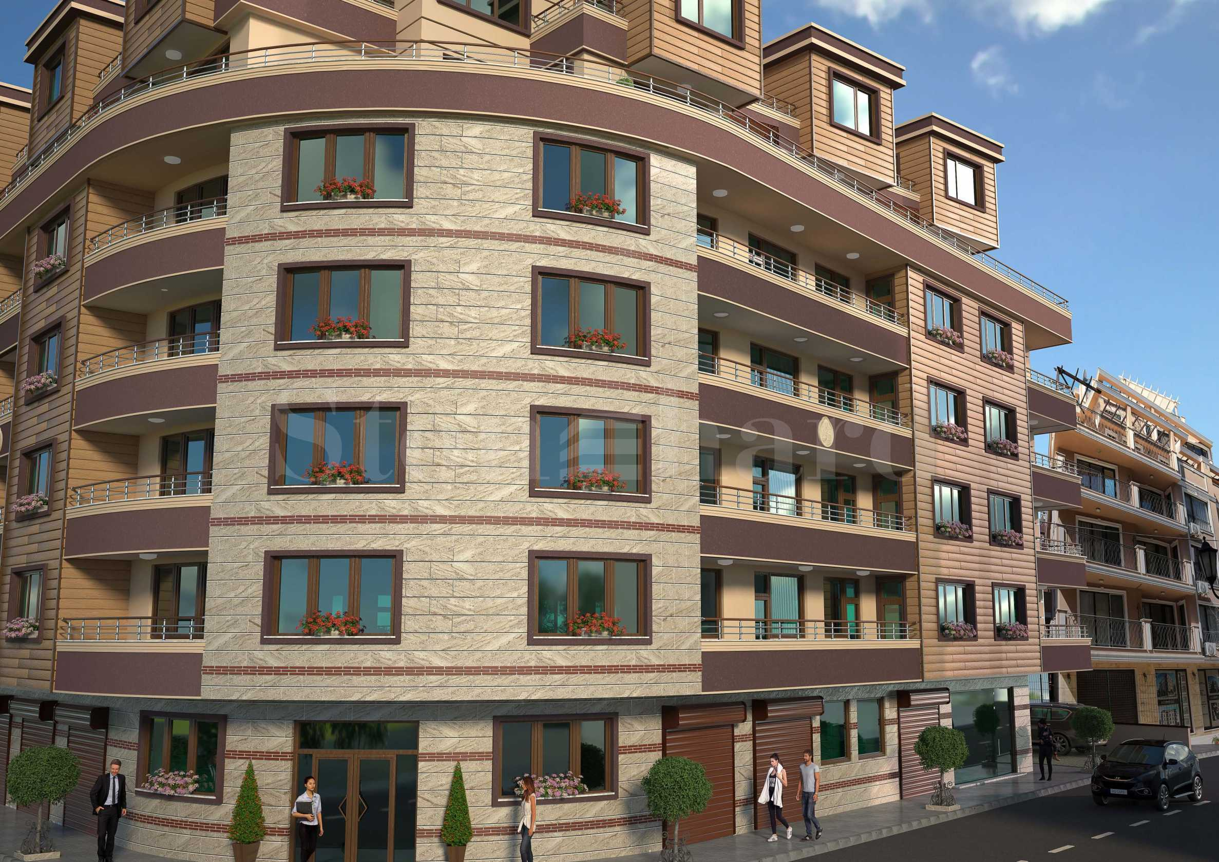 Turnkey apartments in a new building next to the sea and the center2 - Stonehard