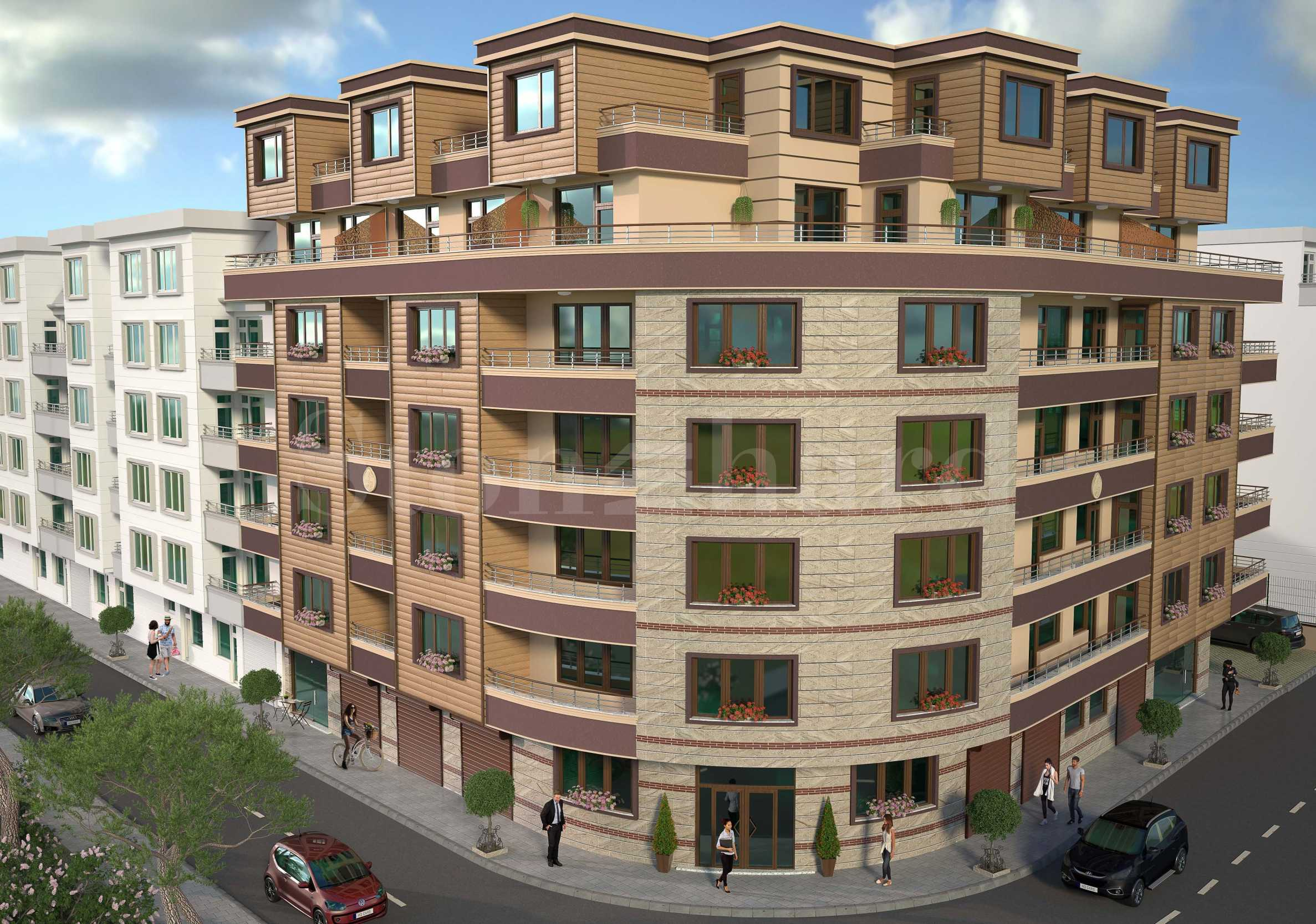 Turnkey apartments in a new building next to the sea and the center1 - Stonehard