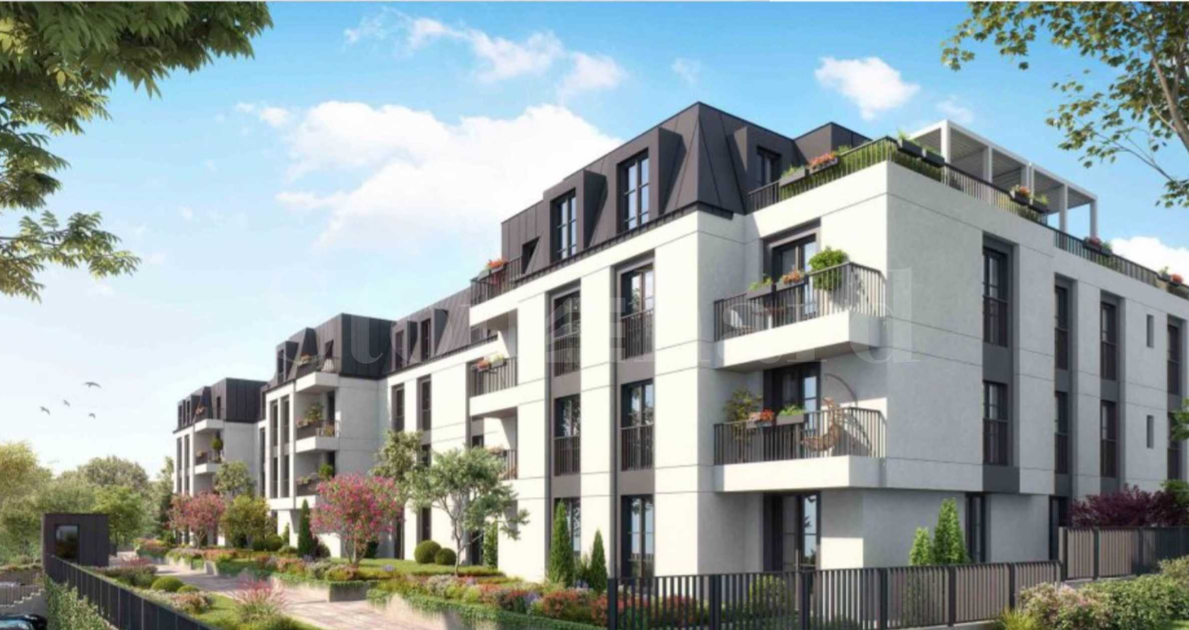 Apartments for sale in a new gated complex in Dragalevtsi2 - Stonehard
