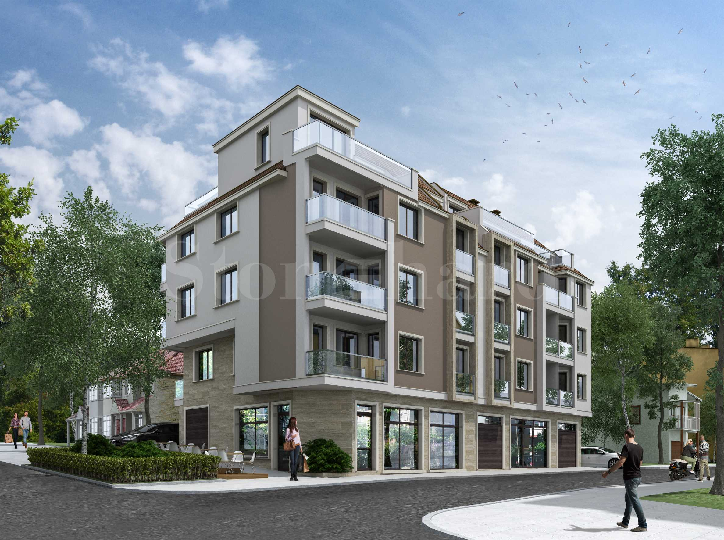 Last apartments in a new building in the center of Varna1 - Stonehard