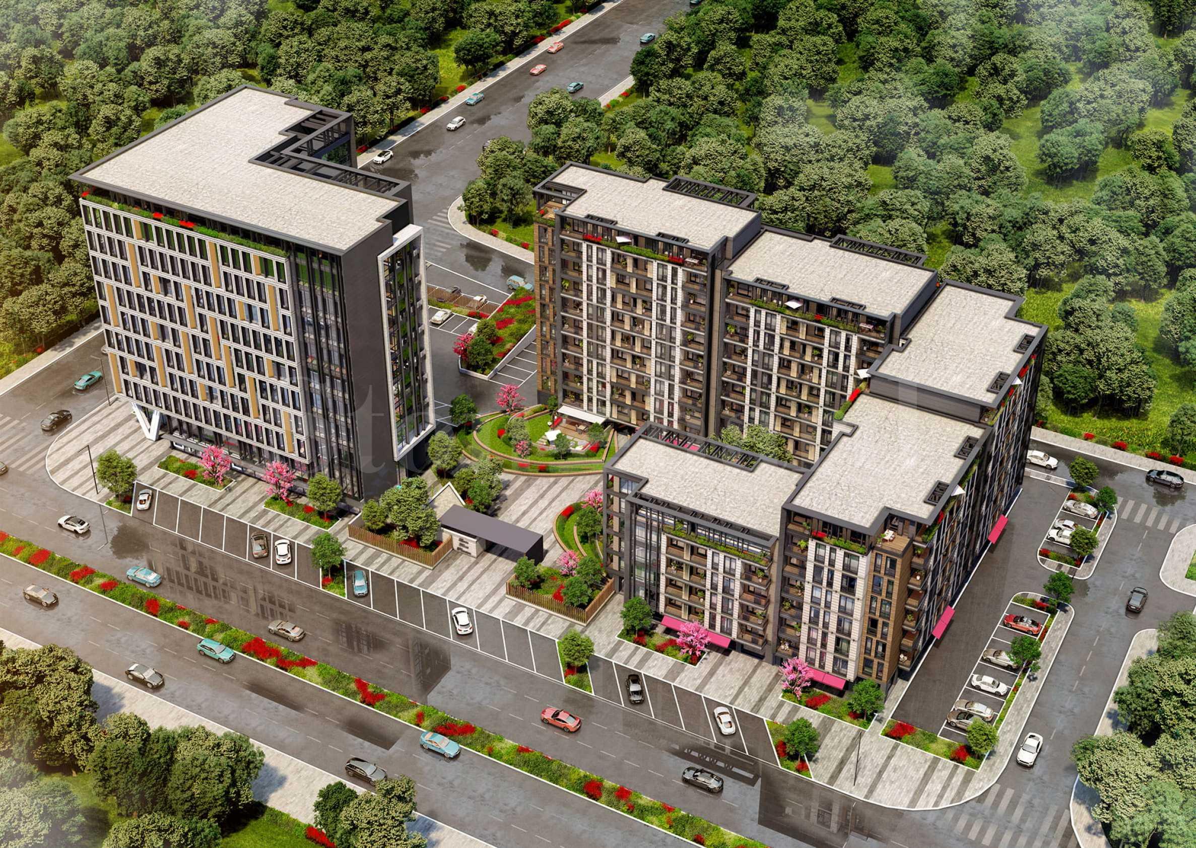Премиум клас жилищен проект срещу парк с най-голямата зелена площ1 - Stonehard