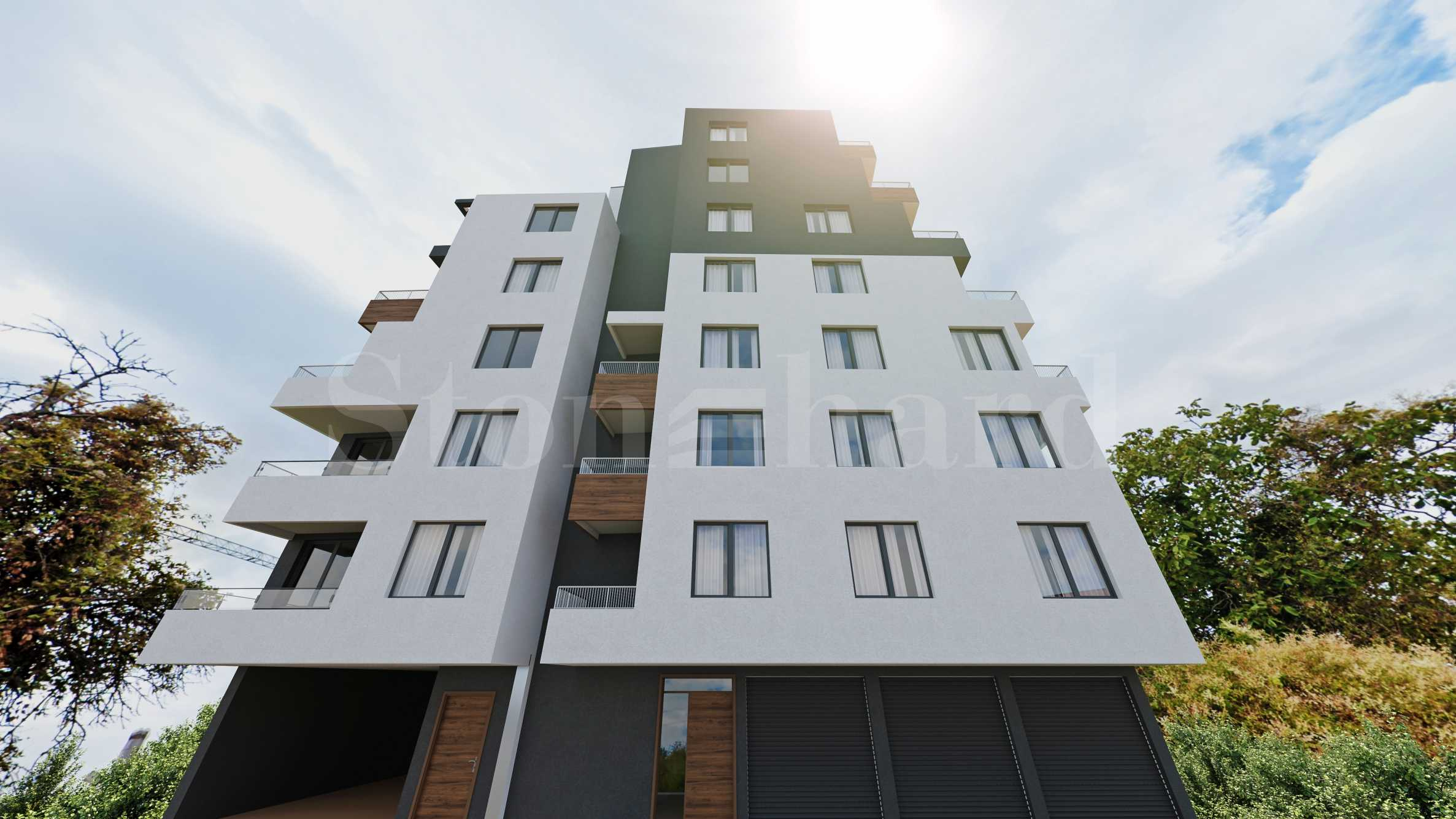 New-build apartments, garages and parking spaces in Pchelina area1 - Stonehard
