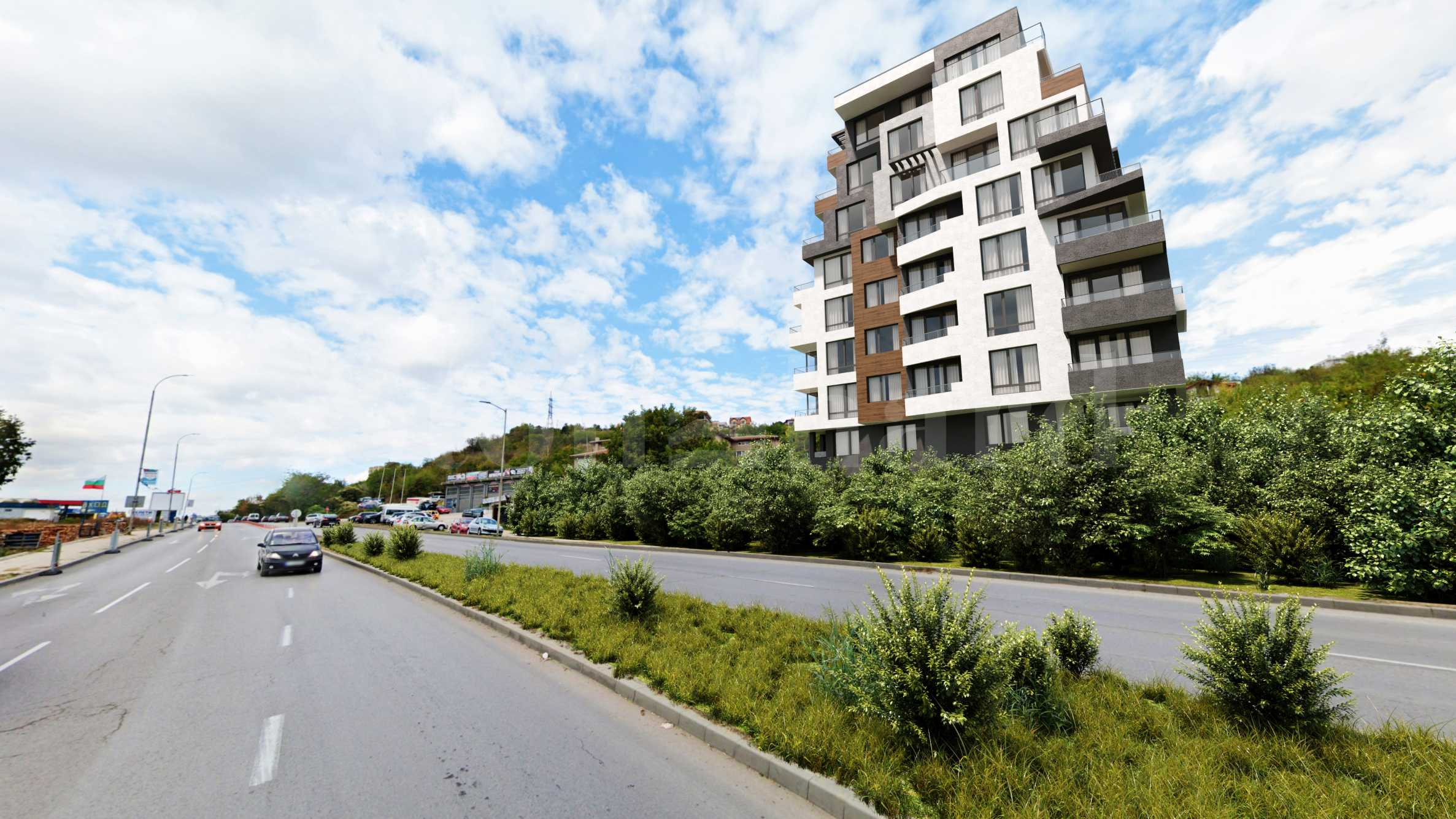 New-build apartments, garages and parking spaces in Pchelina area2 - Stonehard