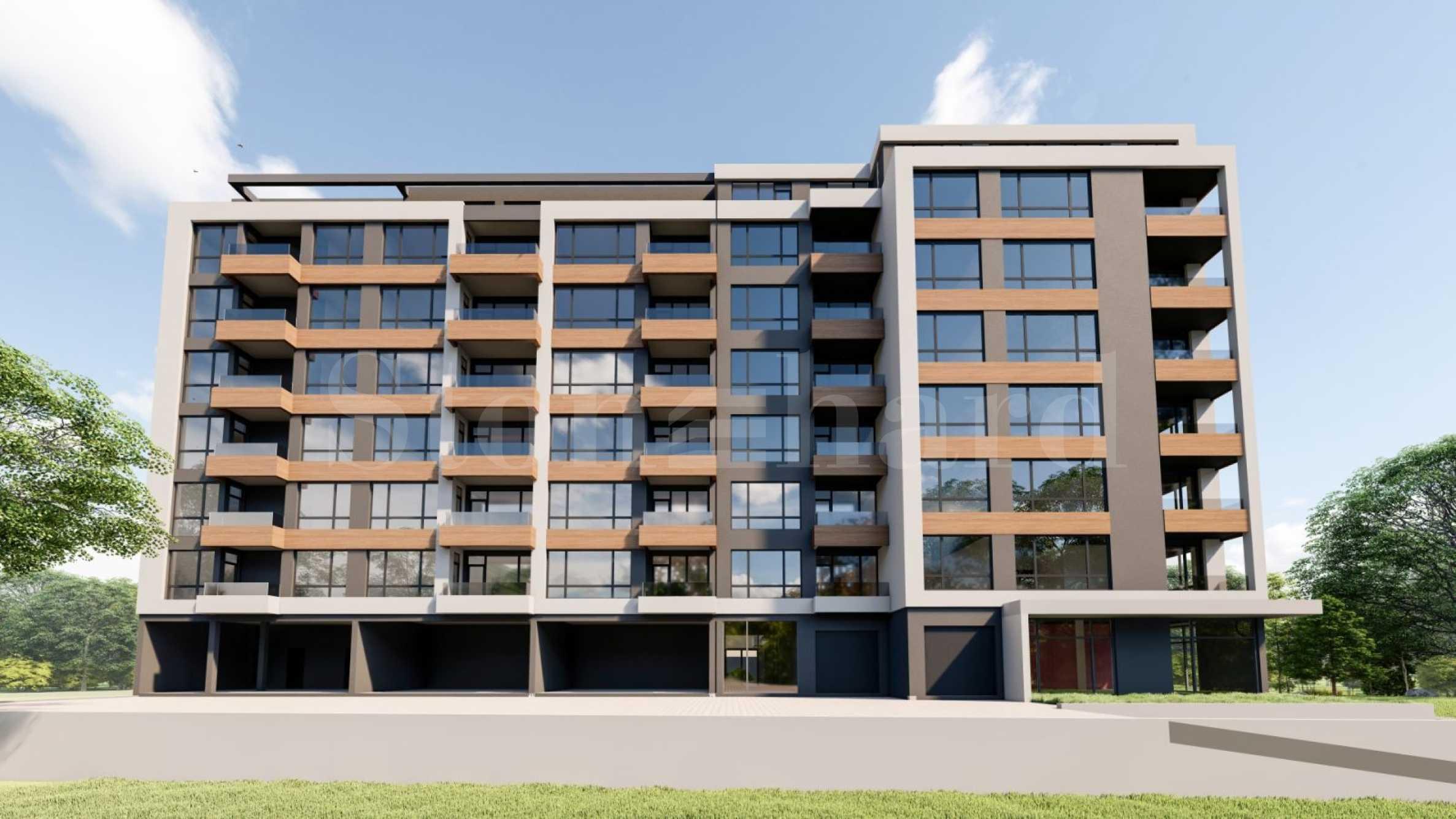 New-build apartments near Delta Planet Mall Varna2 - Stonehard