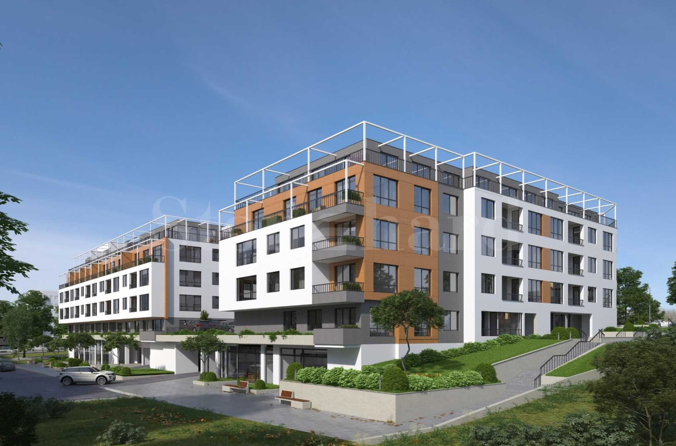 Apartments in 2 modern buildings, new construction in Mladost district1 - Stonehard