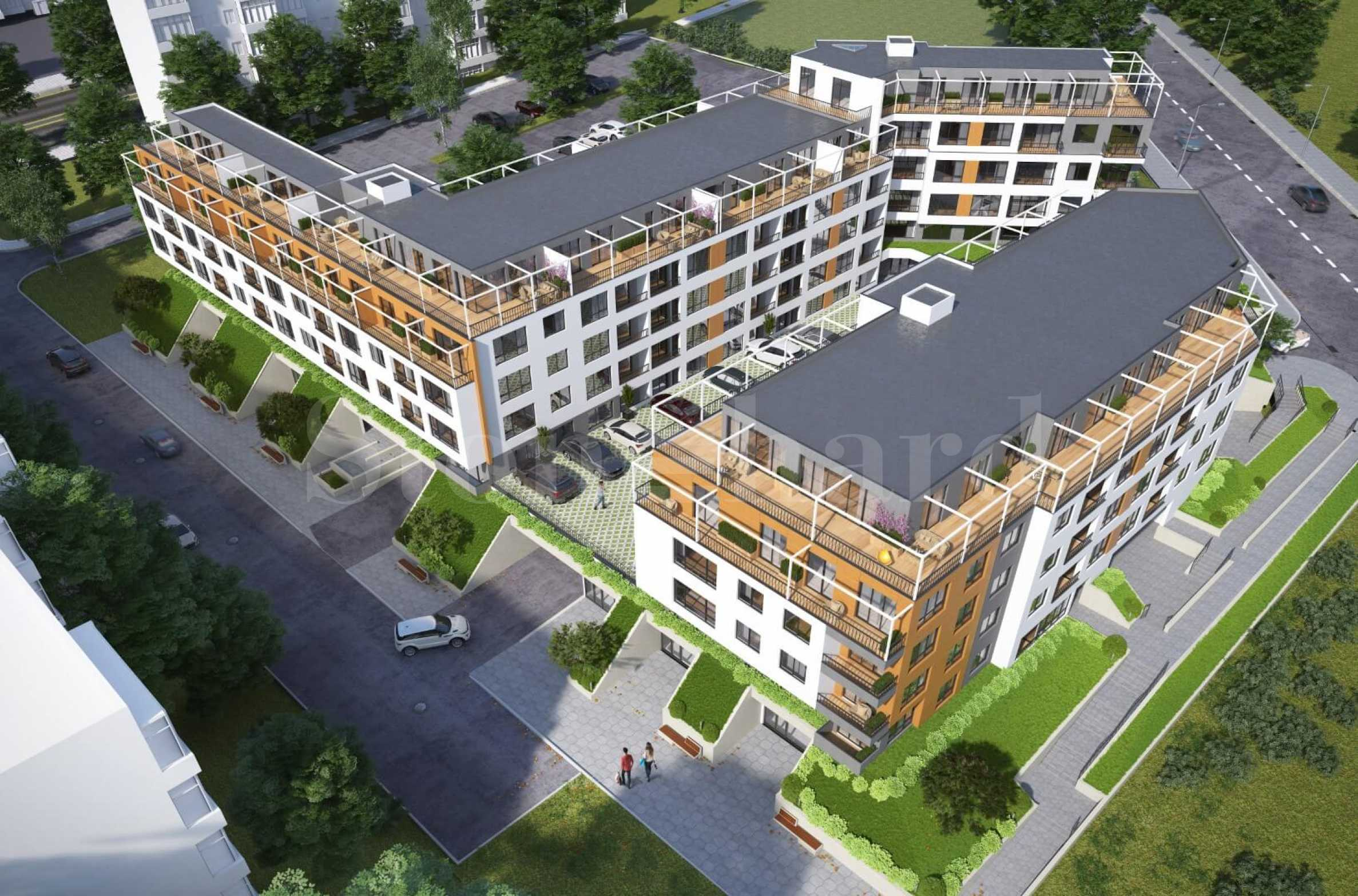 Apartments in 2 modern buildings, new construction in Mladost district2 - Stonehard
