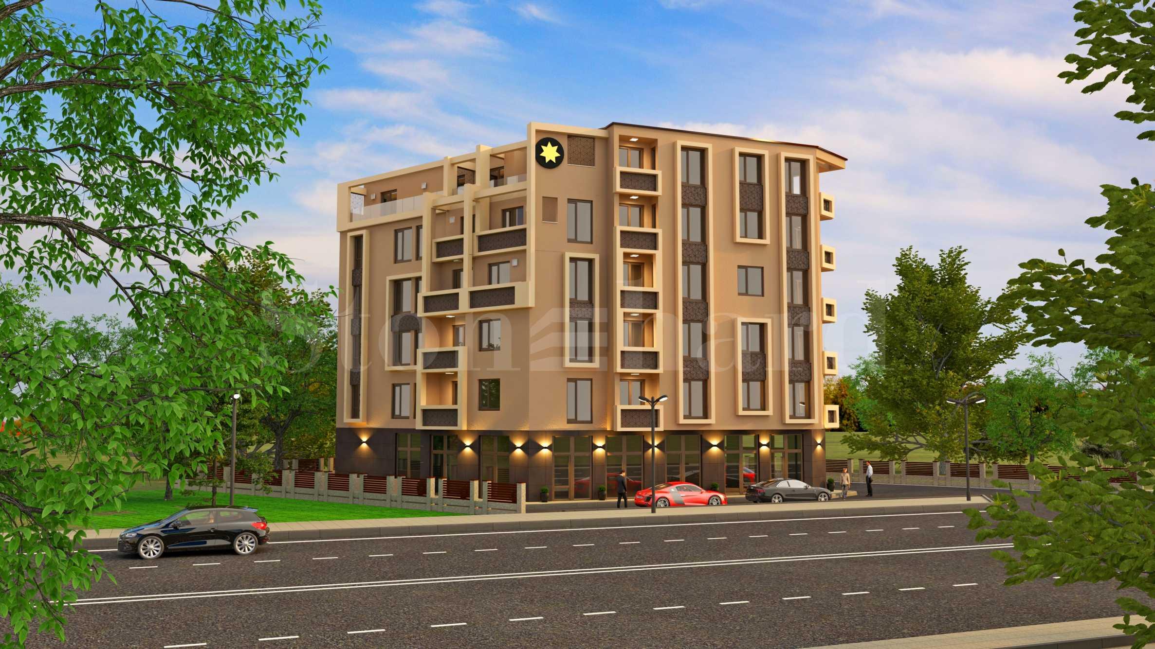 Апартаменти с панорама към Родопите в нов комплекс до парк1 - Stonehard