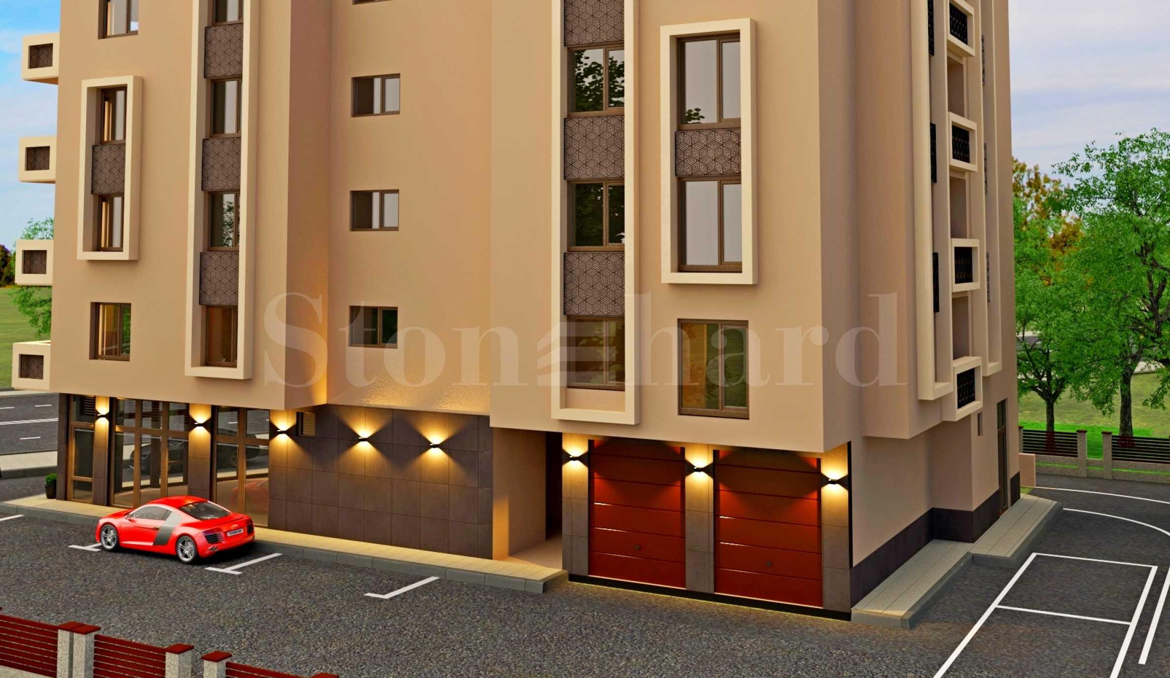 Апартаменти с панорама към Родопите в нов комплекс до парк2 - Stonehard