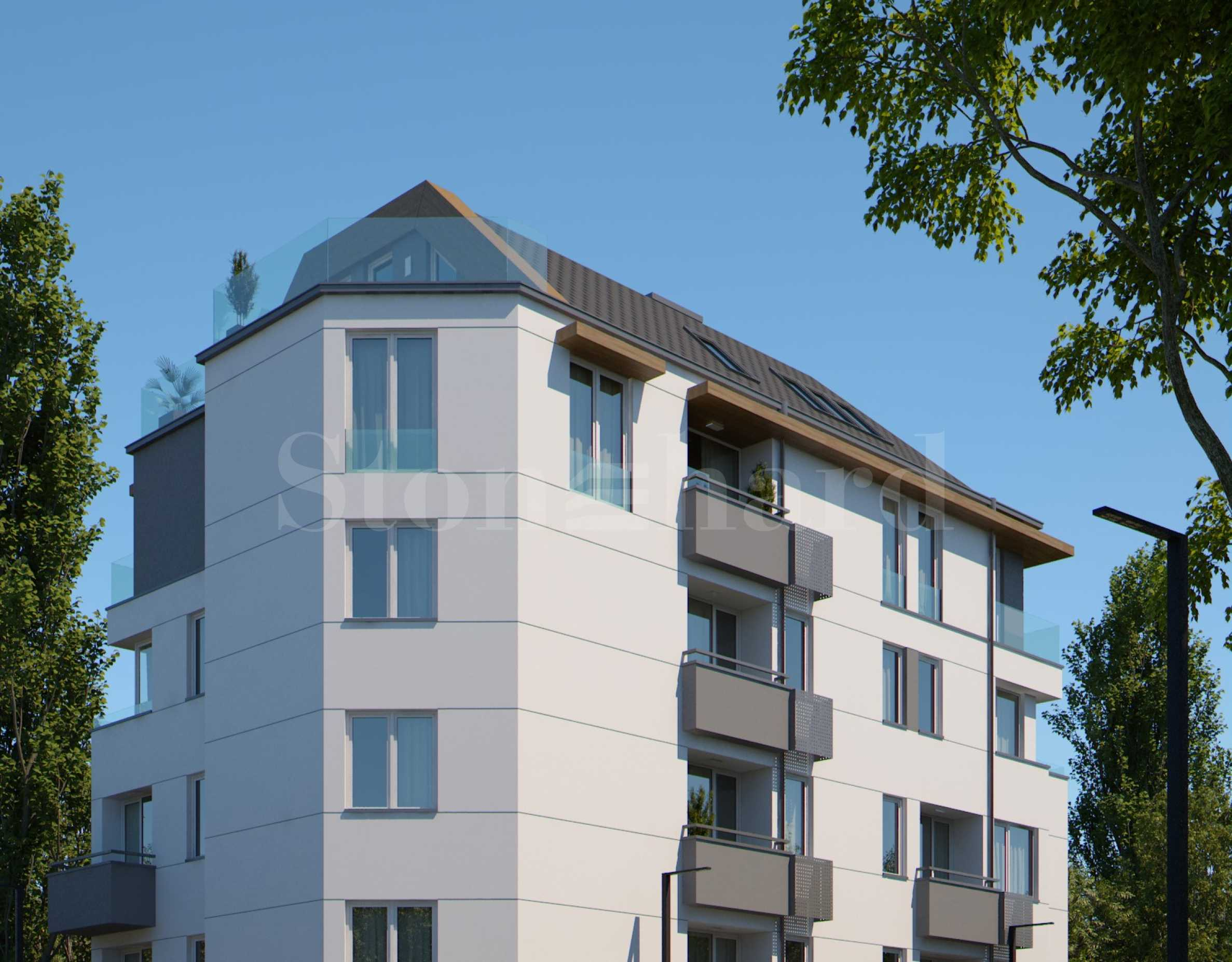 Apartments in a neat building at attractive prices in zh.k.