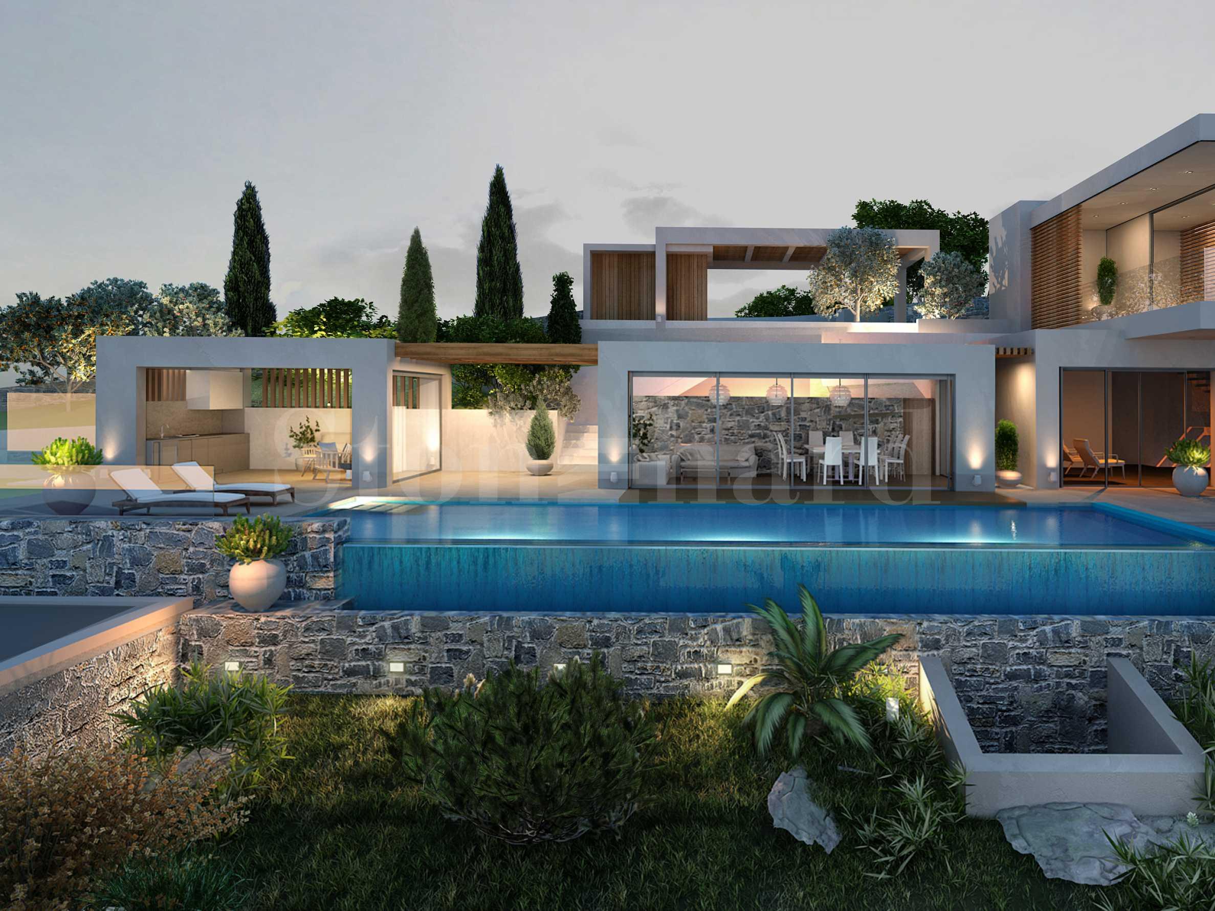 Луксозни вили ново строителство, 1-ва линия на морето на о-в Крит2 - Stonehard