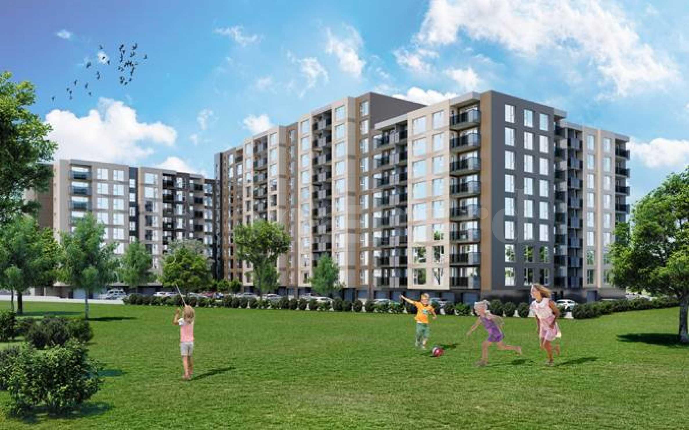 Нови апартаменти в мащабен жилищен проект в район