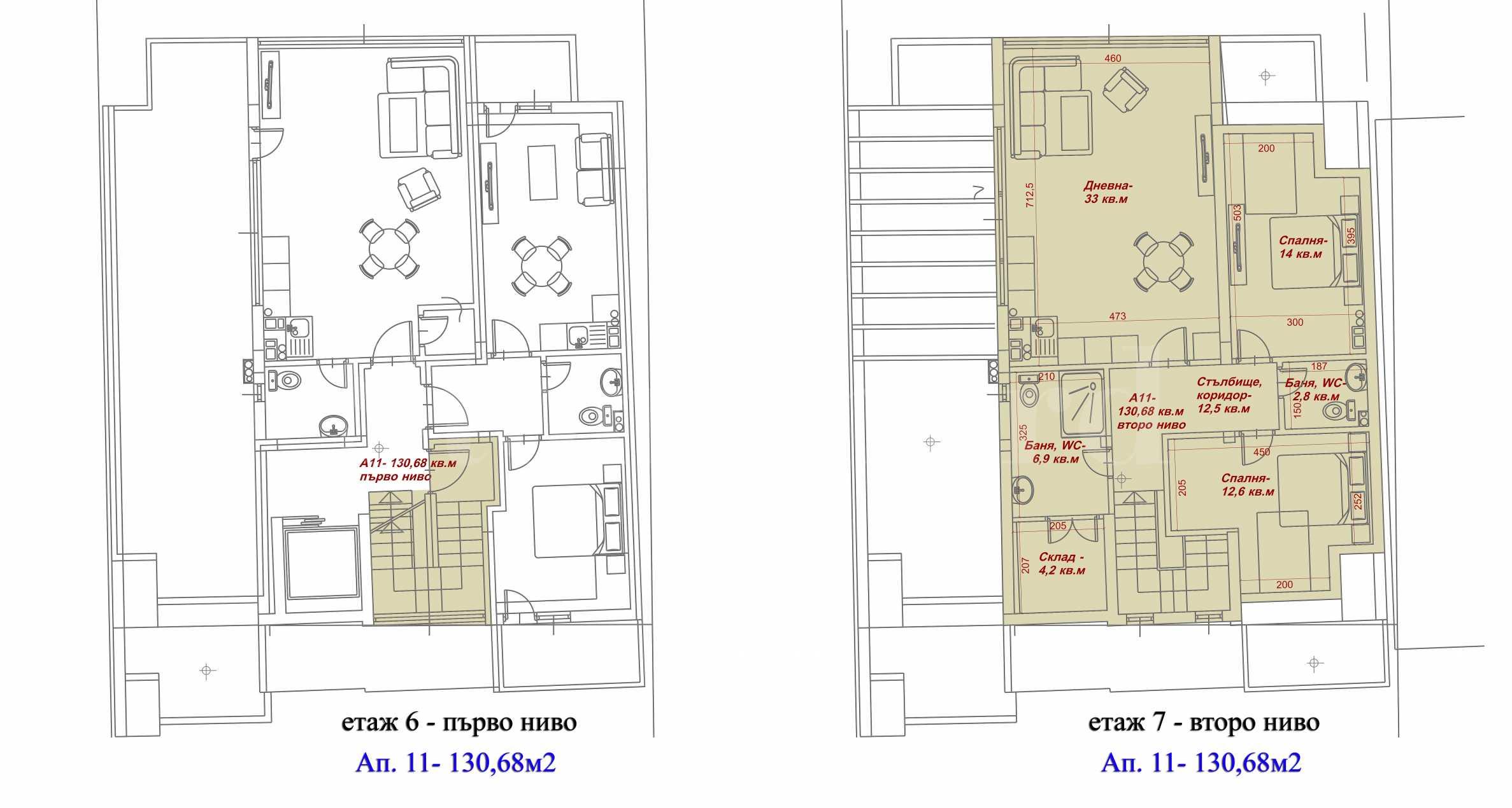 Апартаменти в нова сграда на метри от Grand Mall 2 - Stonehard