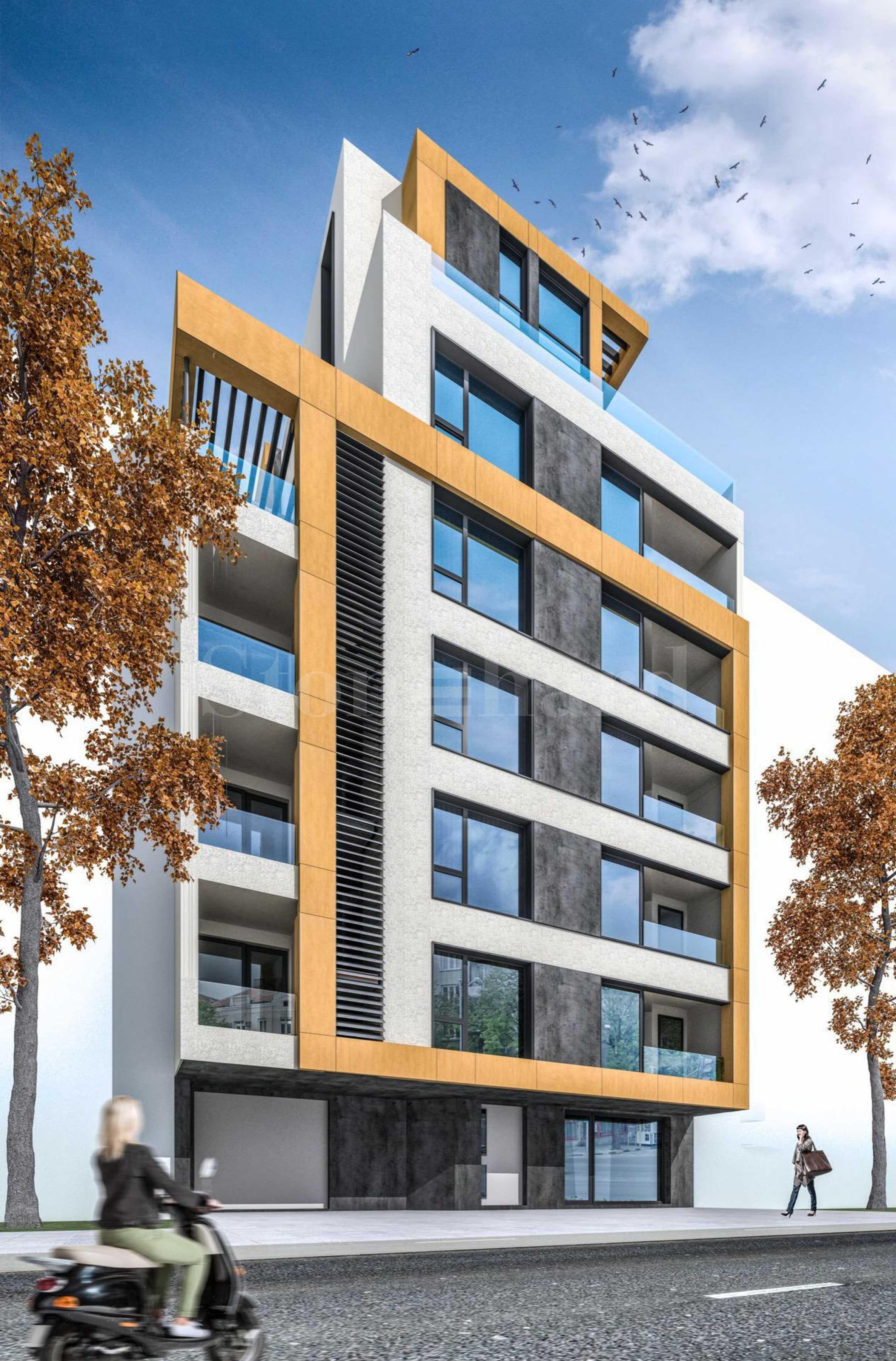 Ефектна нова сграда с качествени апартаменти до Окръжната болница1 - Stonehard