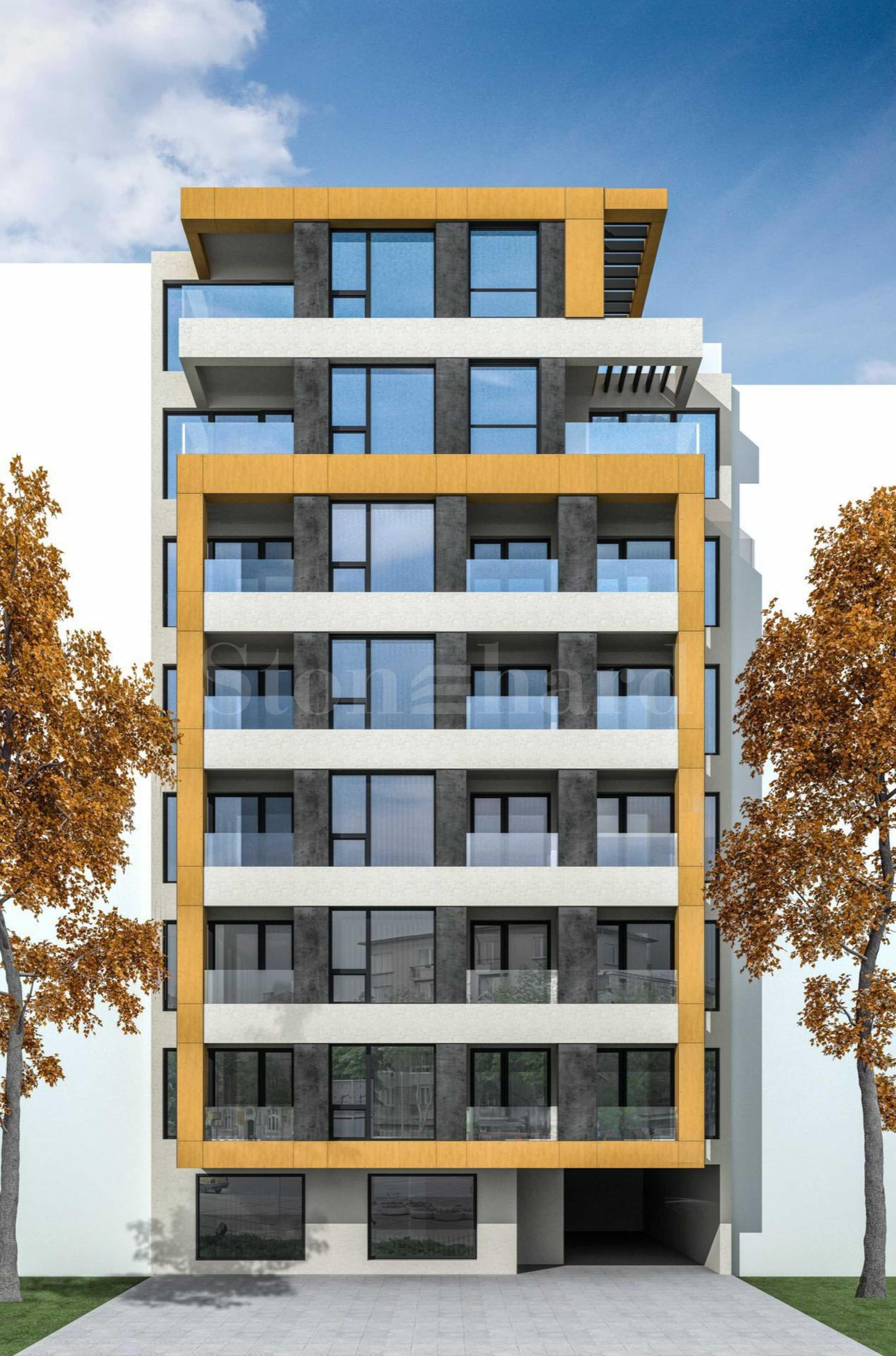 Ефектна нова сграда с качествени апартаменти до Окръжната болница2 - Stonehard