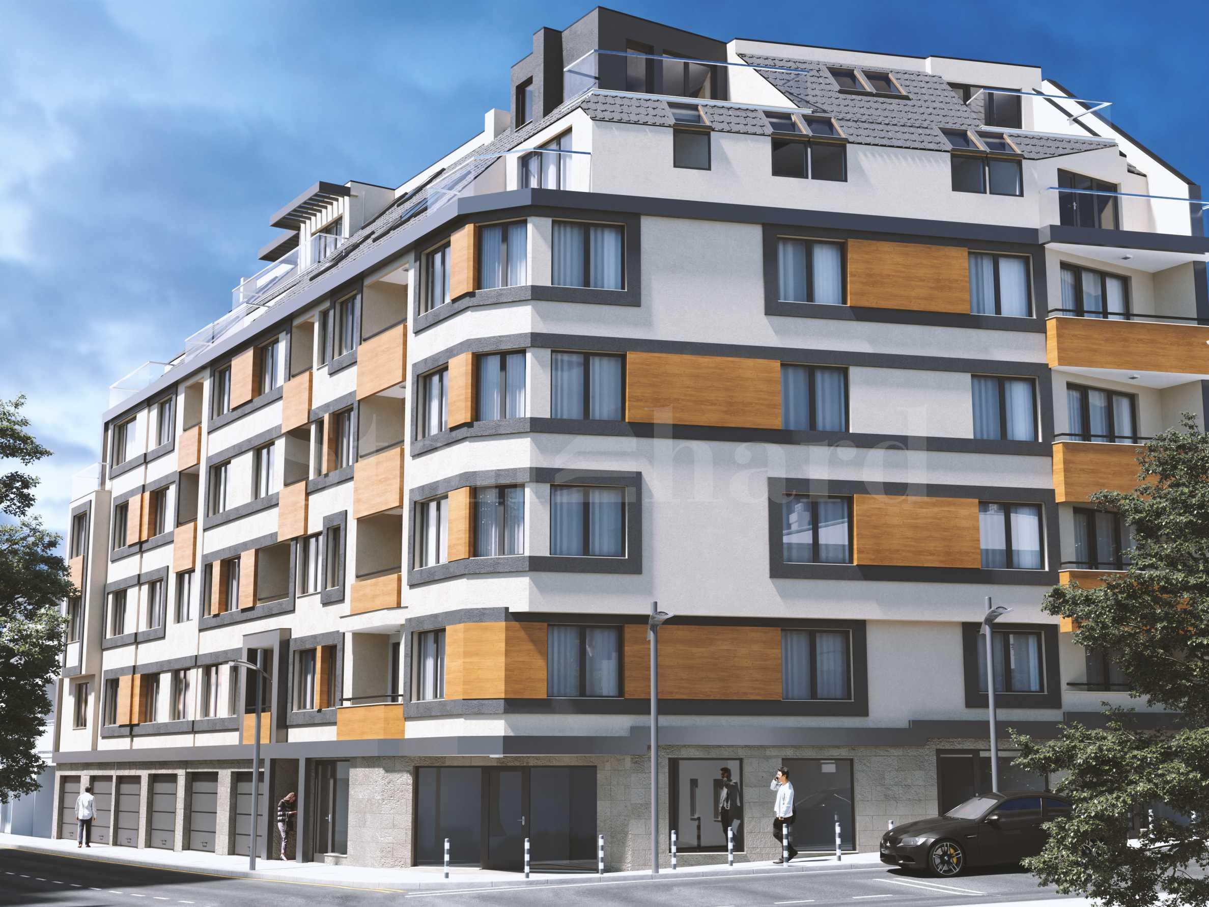 Нови апартаменти, гаражи и паркоместа близо до центъра1 - Stonehard