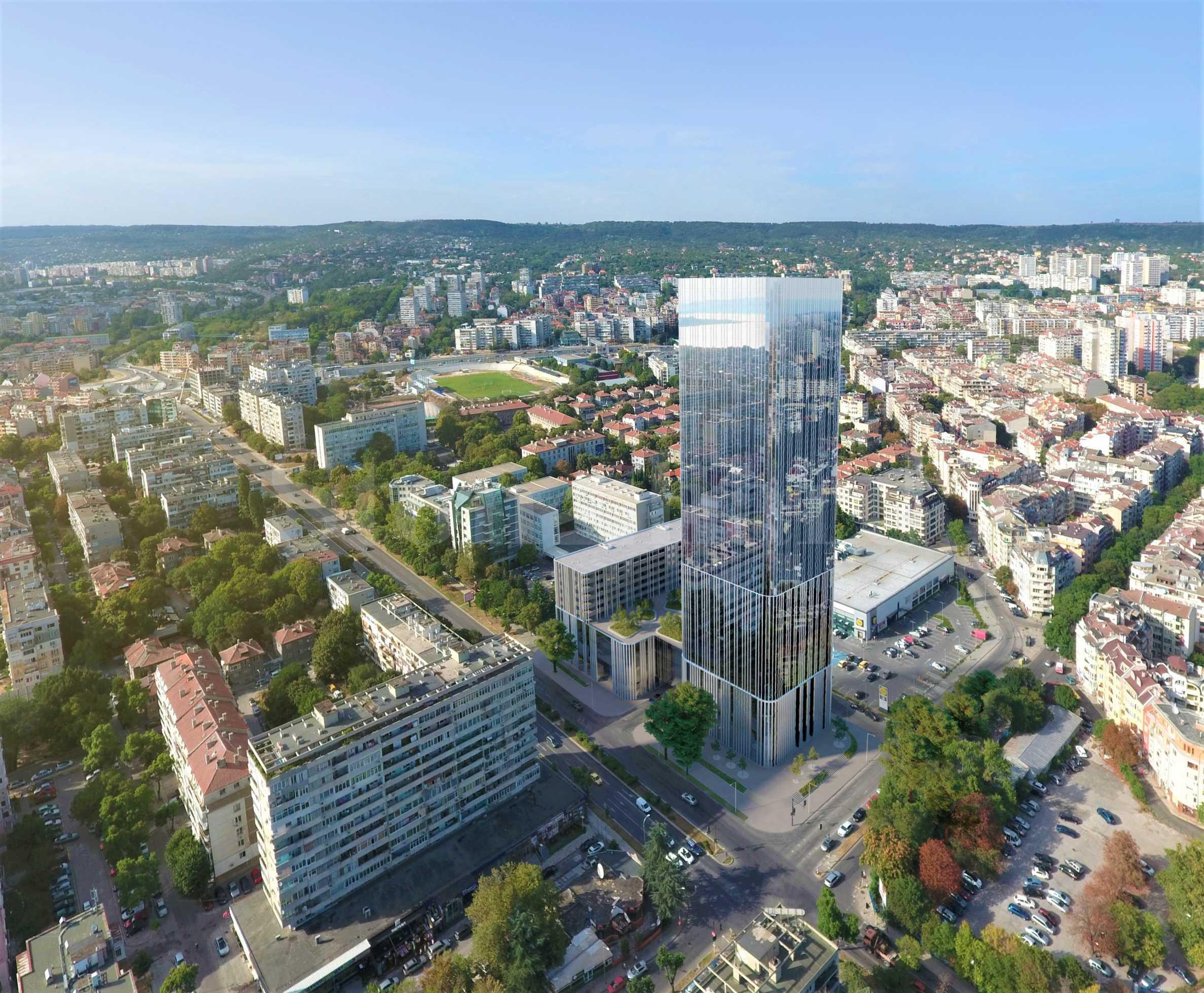 Предварителни продажби на апартаменти в новия небостъргач във Варна1 - Stonehard