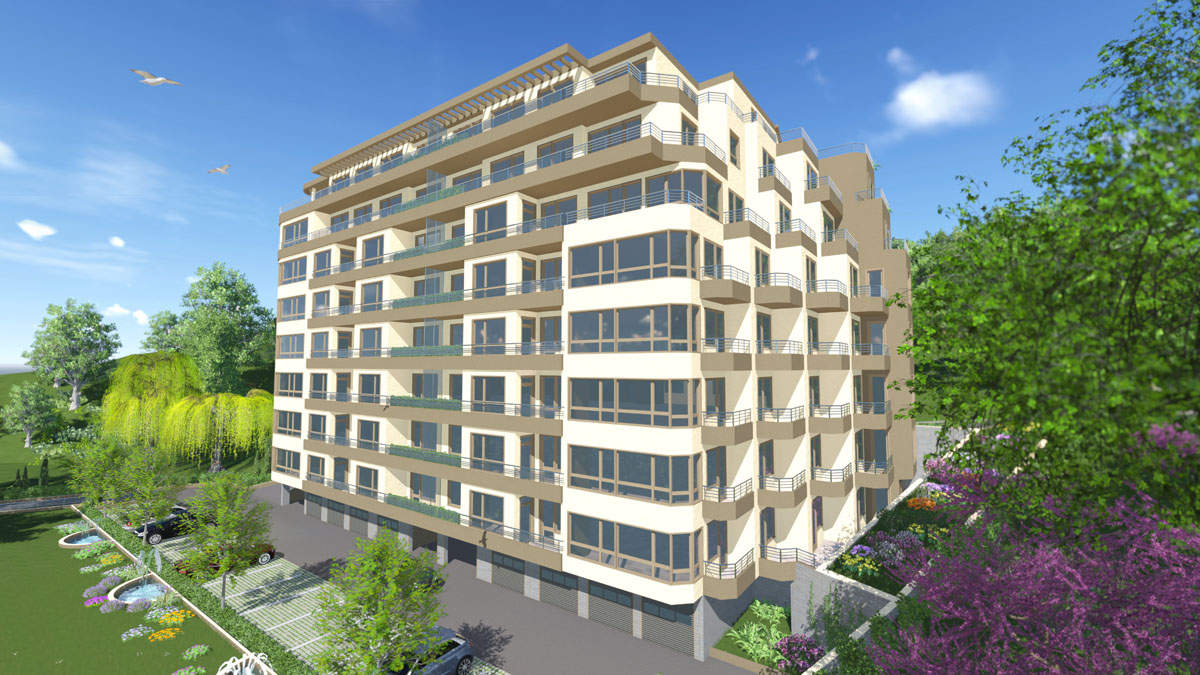 Residential building in the sea capital of Bulgaria1 - Stonehard