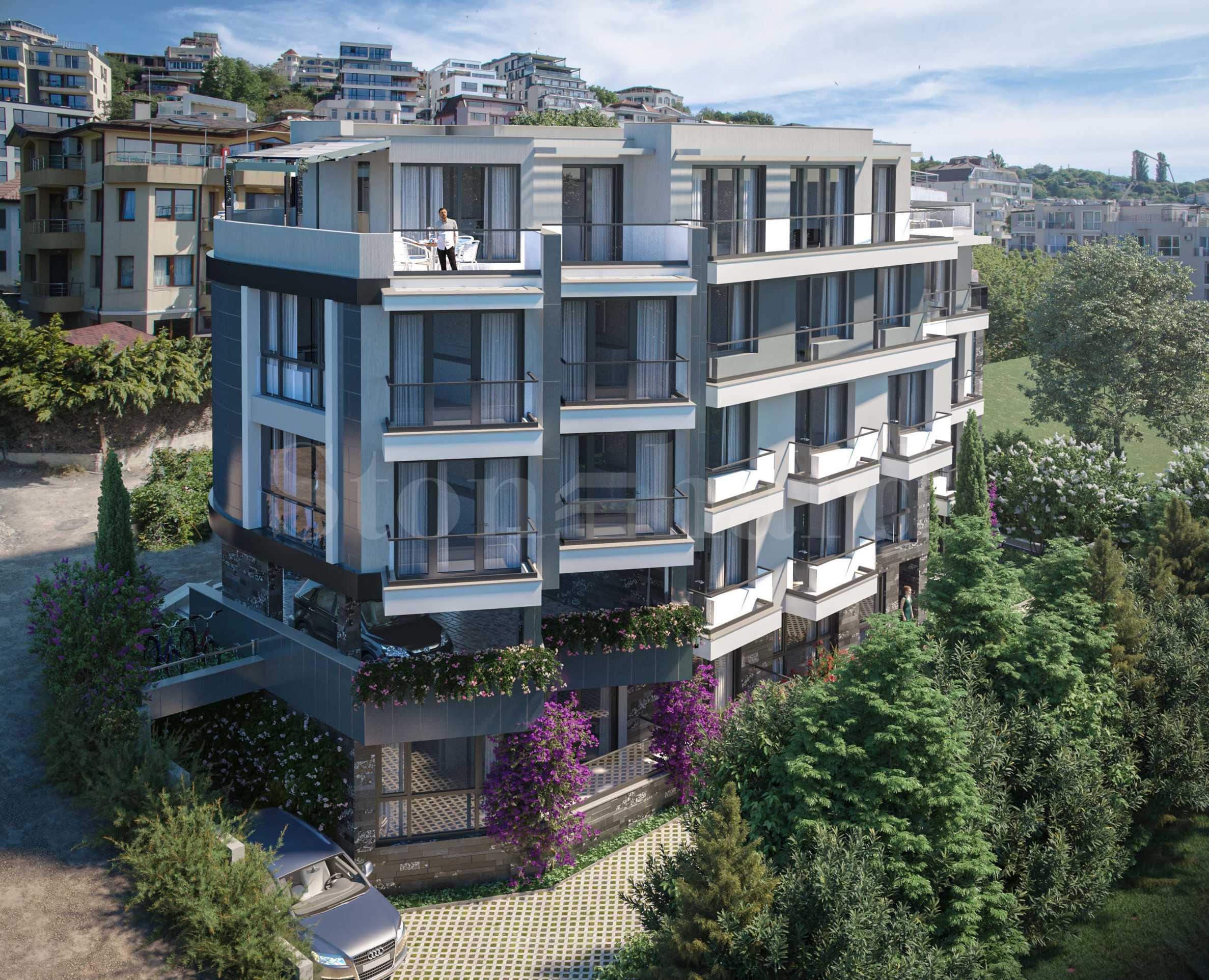 Панорамни апартаменти в елегантна нова сграда до парка1 - Stonehard