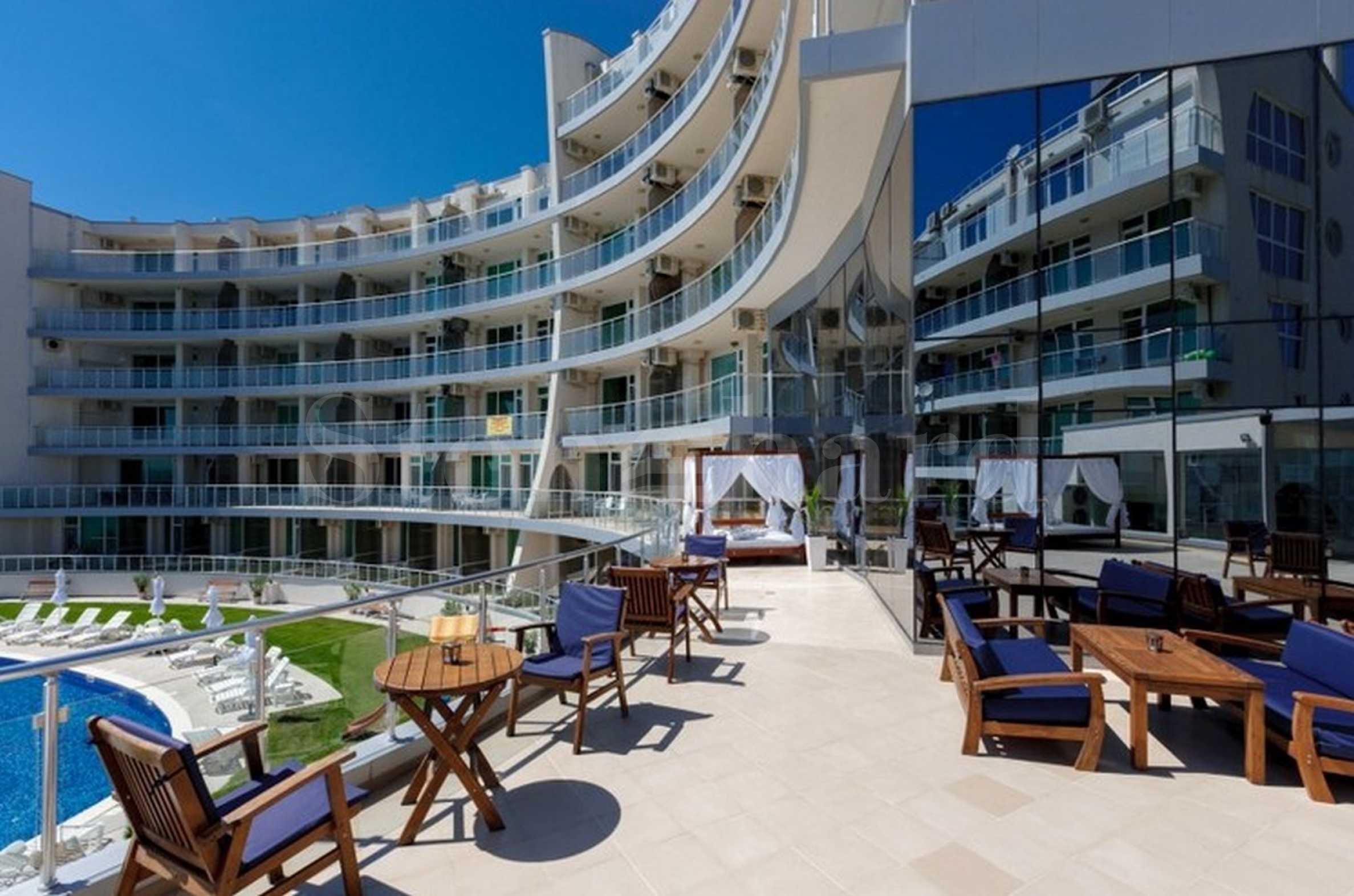 Apartments in a waterfront complex by the beach of Byala resort1 - Stonehard