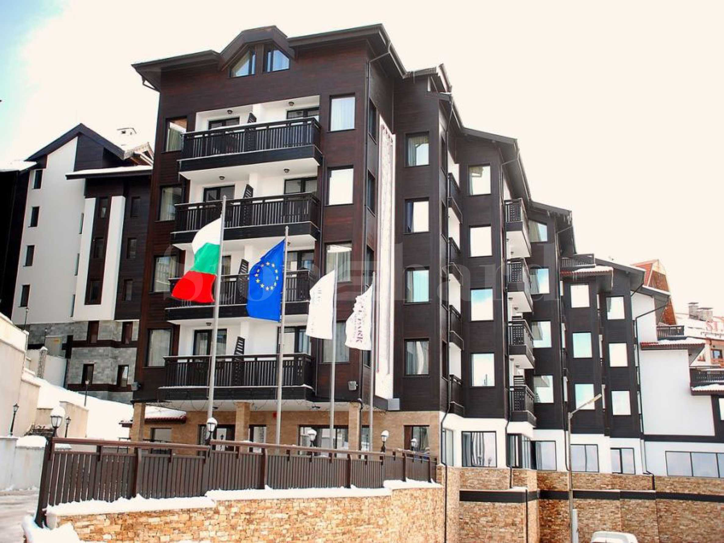 Furnished apartments for sale in a SPA complex at the foot of Pirin mountain in Bansko1 - Stonehard