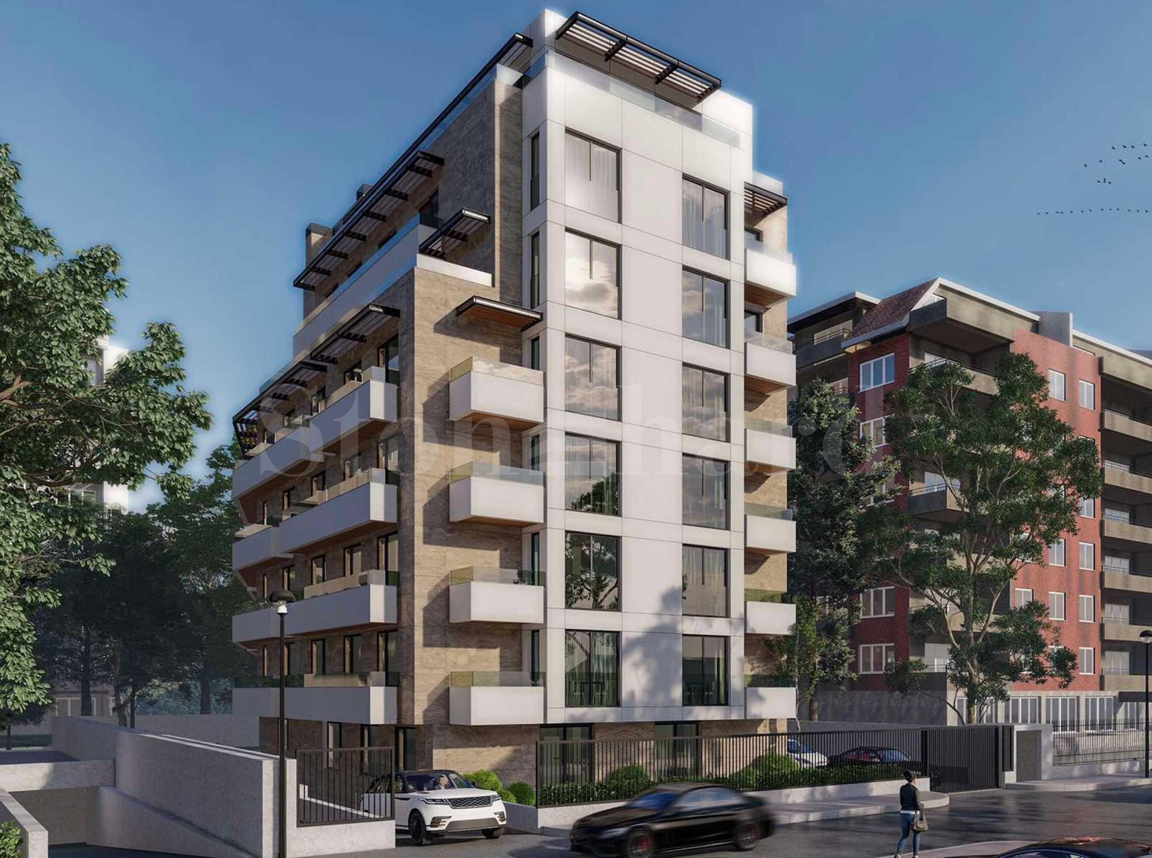 Новострояща се жилищна сграда в кв. Изгрев1 - Stonehard