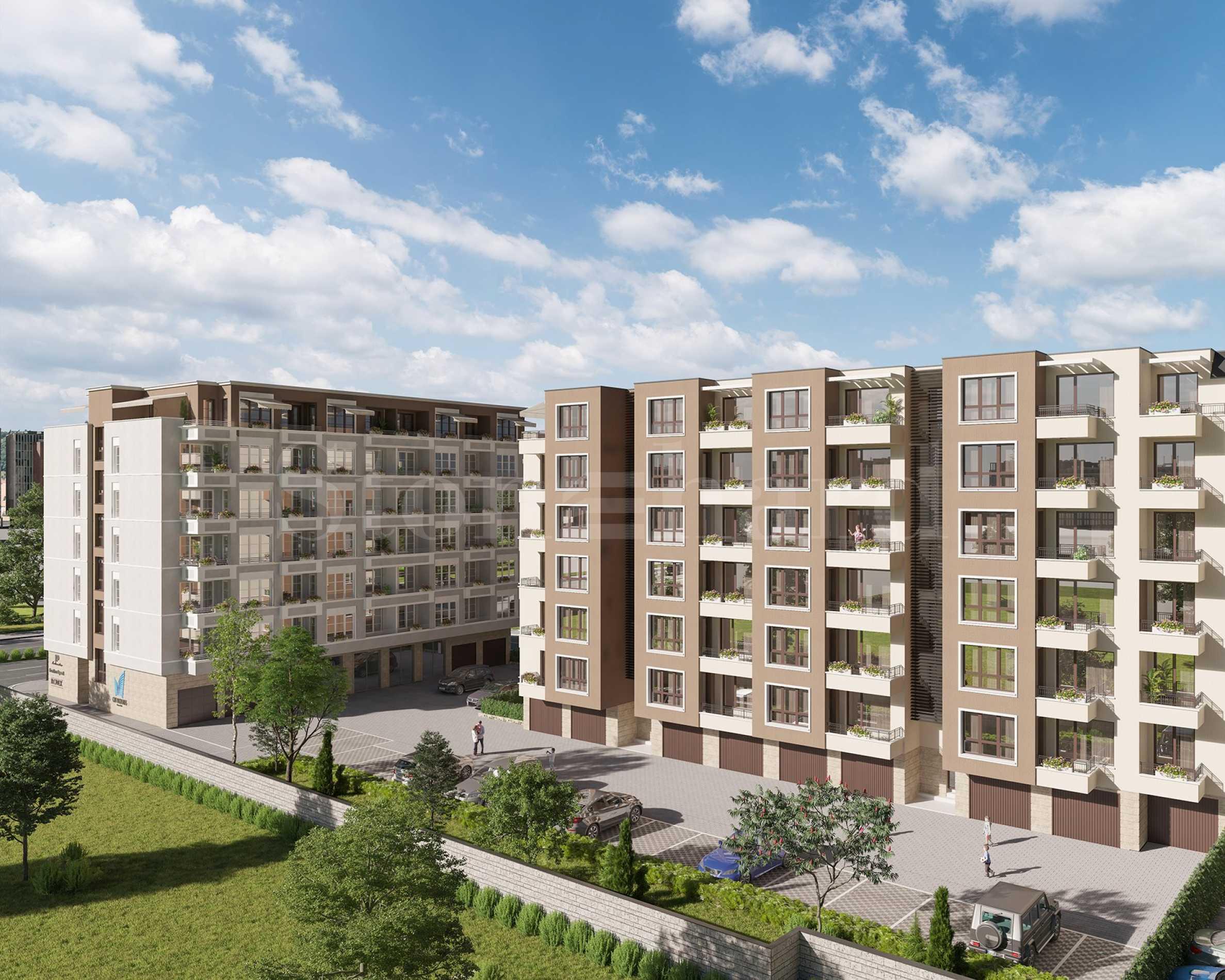 Нова жилищна сграда в район