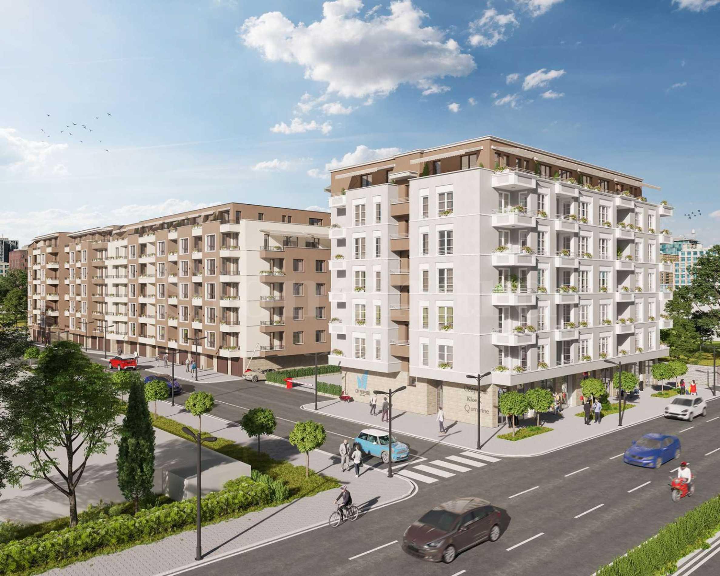 Жилищен комплекс с просторни апартаменти в комуникативен район 1 - Stonehard