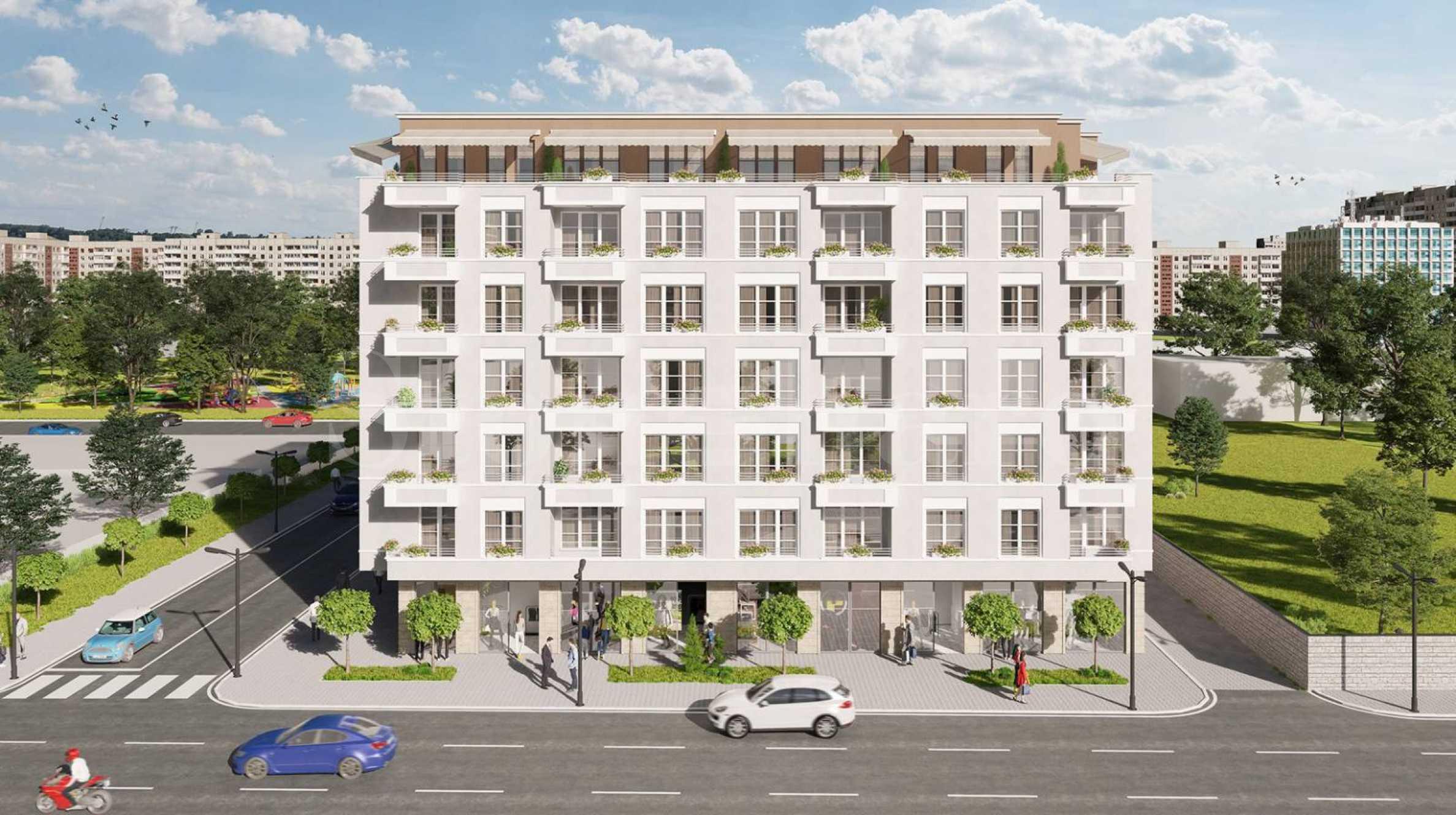 Жилищен комплекс с просторни апартаменти в комуникативен район 2 - Stonehard