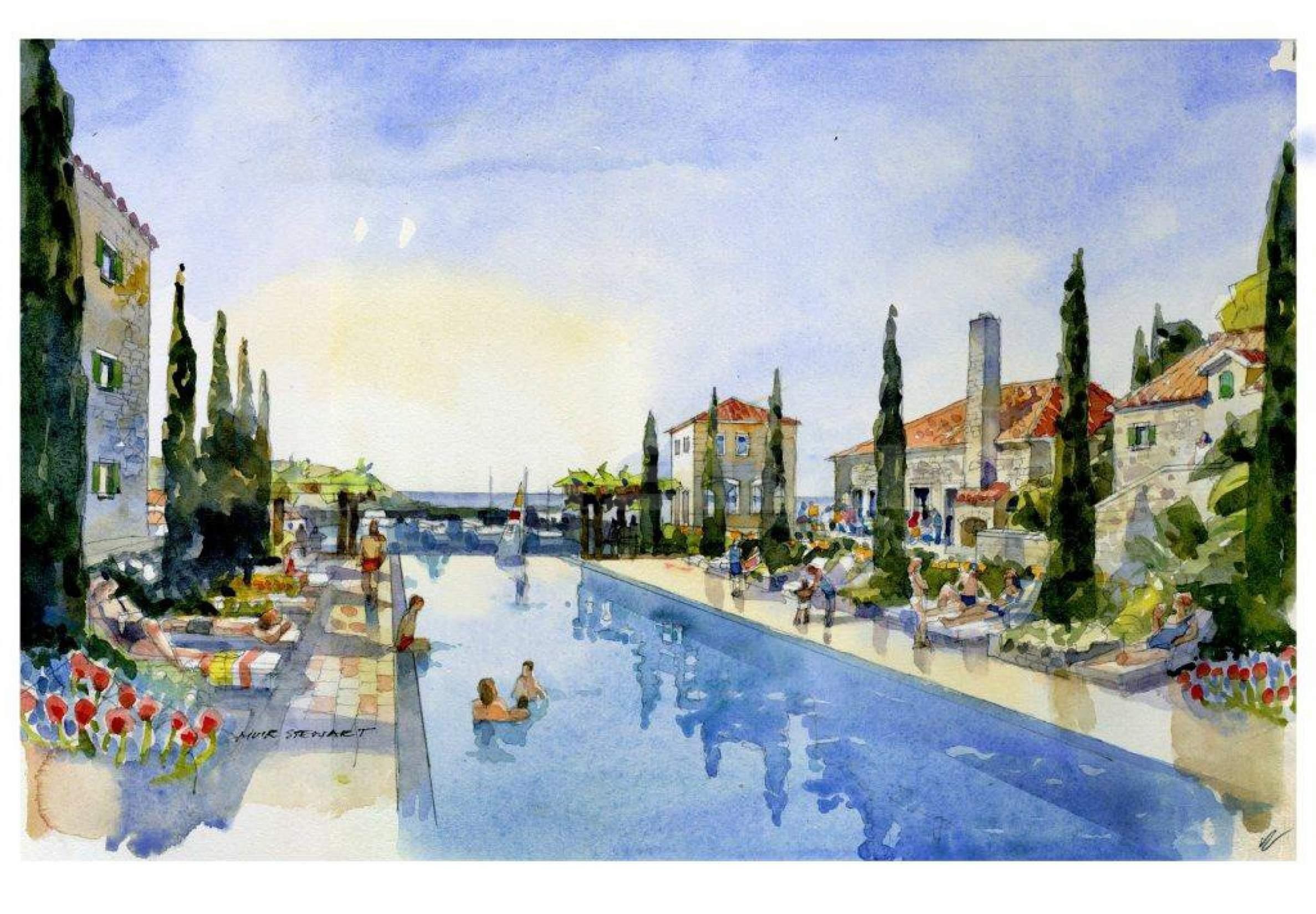 Инвестиция в хотел 5 звезди в луксозен курорт на Адриатическо море2 - Stonehard