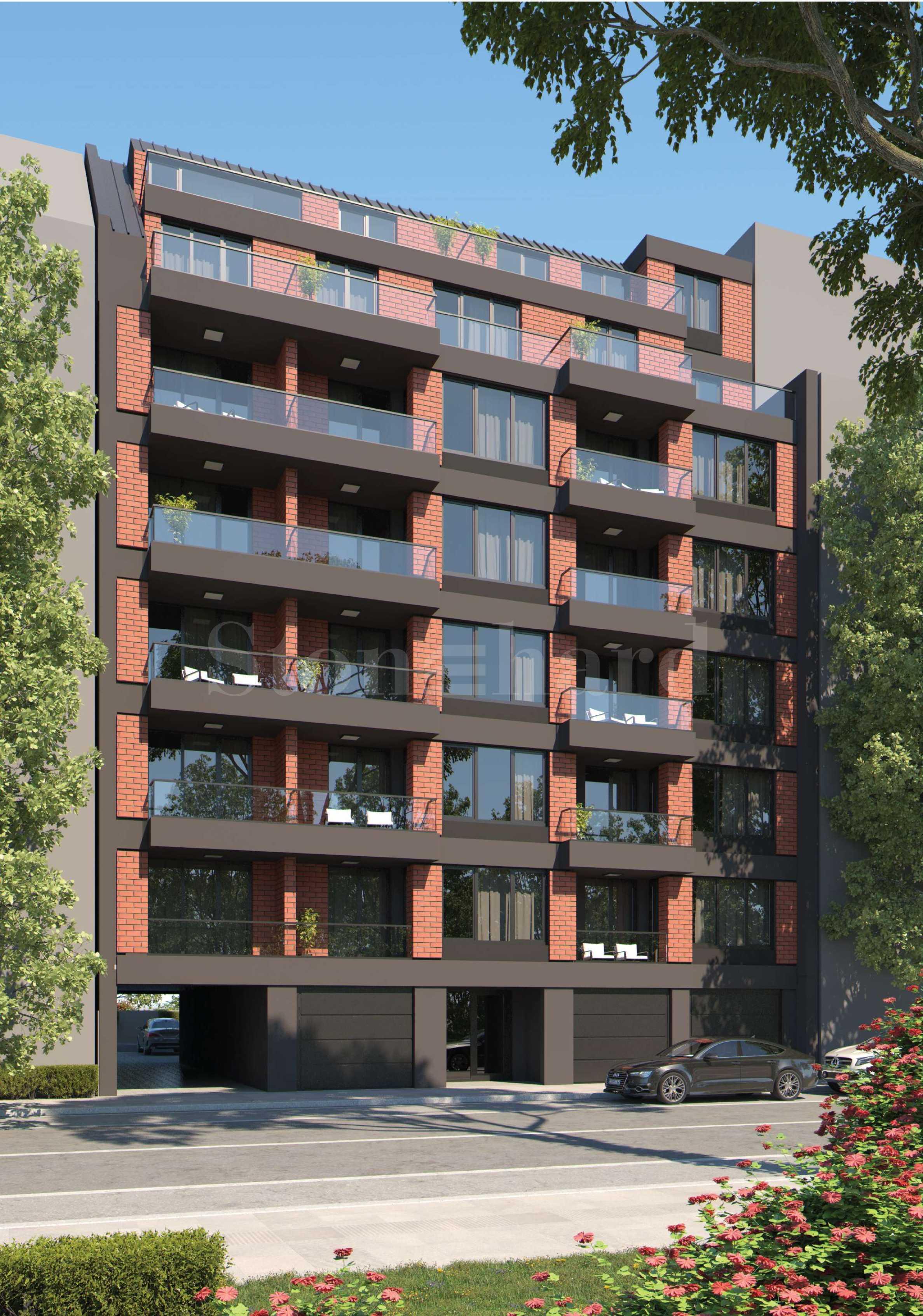 Новострояща се жилищна сграда в широк център до много удобства1 - Stonehard