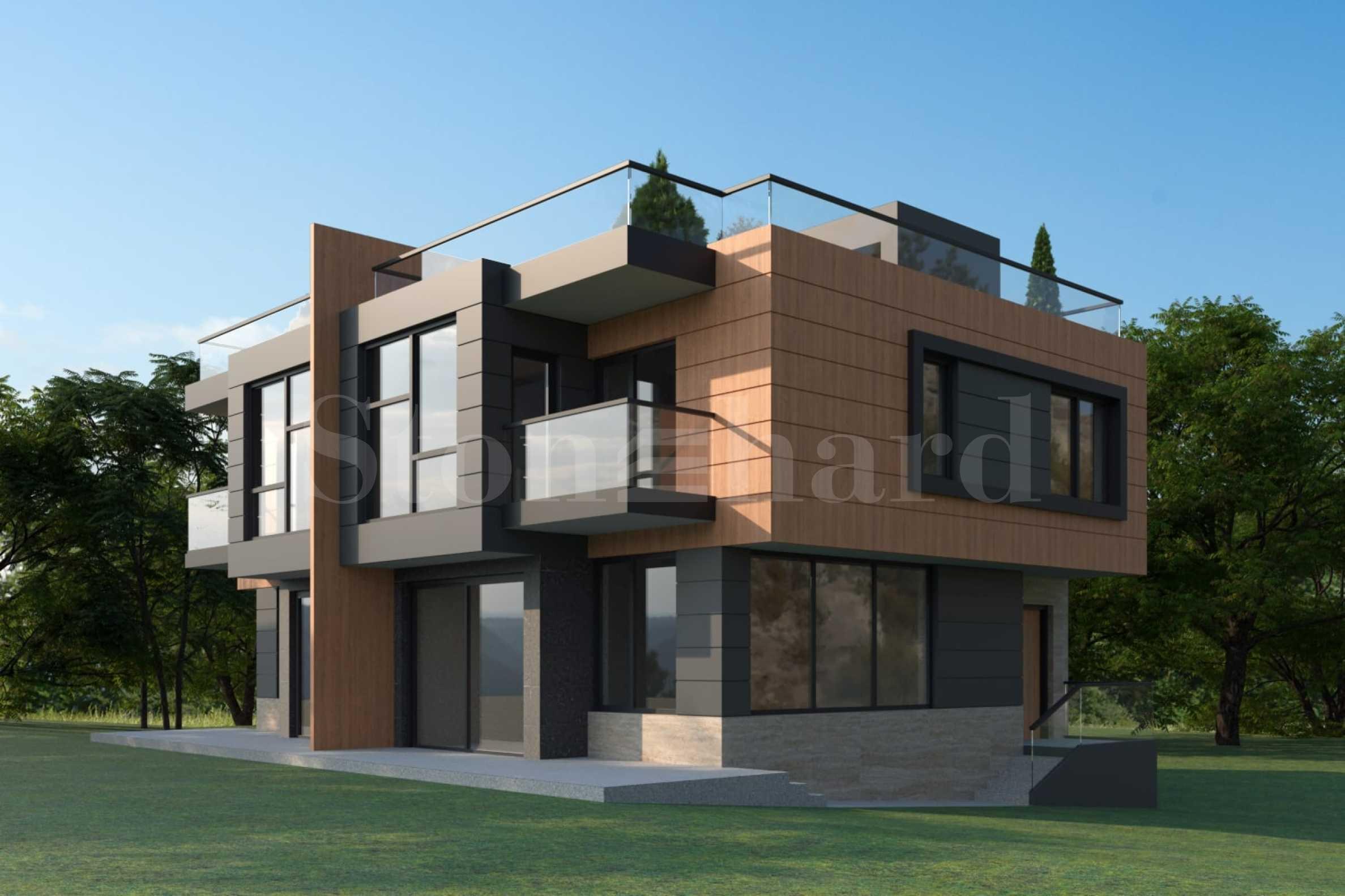 Фамилни къщи в нов комплекс в един от най хубавите райони на кв. Драгалевци2 - Stonehard