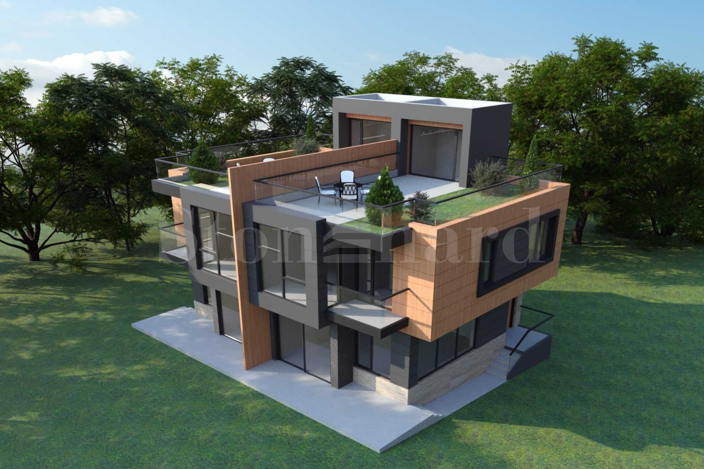 Фамилни къщи в нов комплекс в един от най хубавите райони на кв. Драгалевци1 - Stonehard